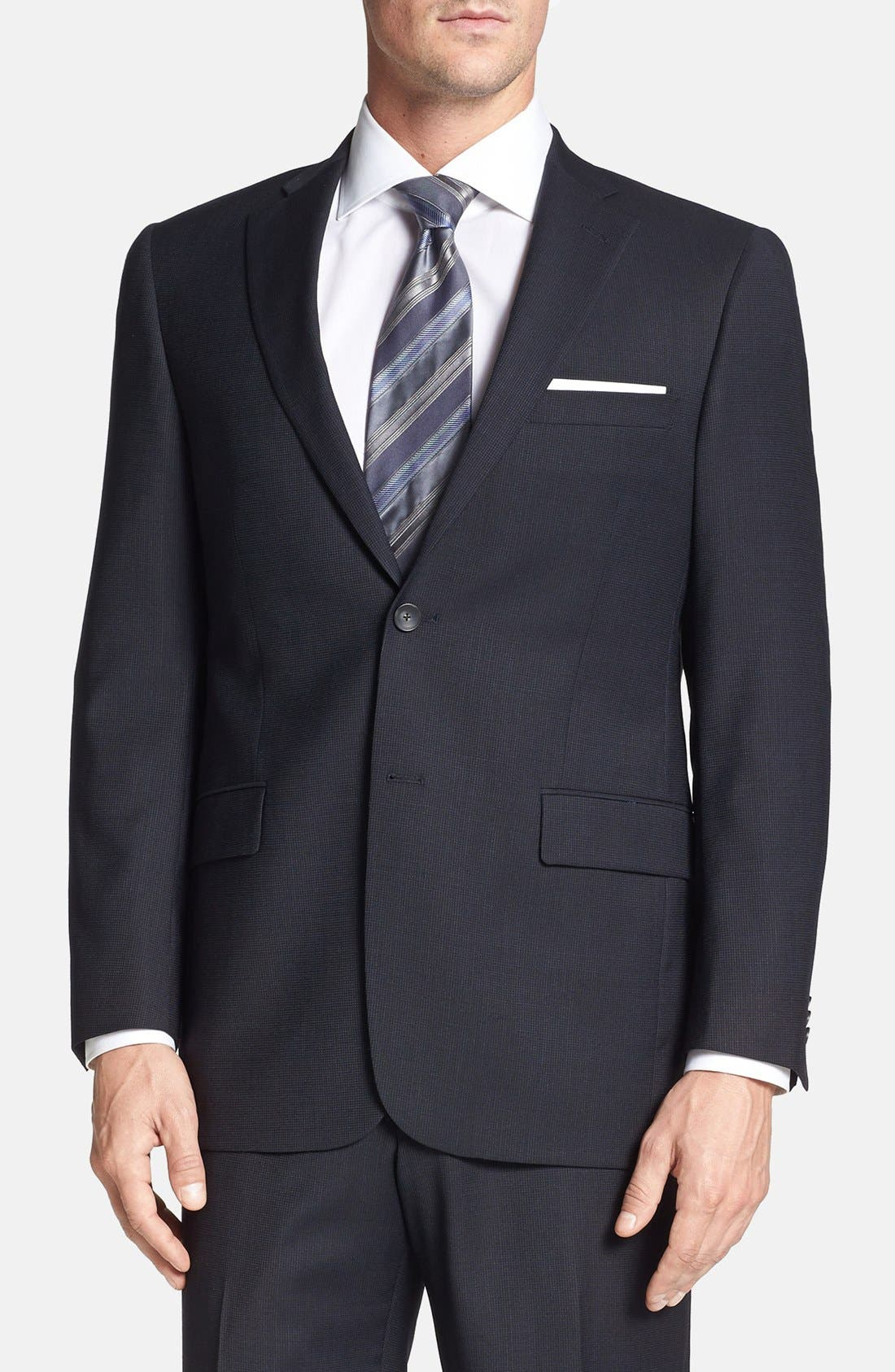 Alternate Image 4  - Hart Schaffner Marx 'New York' Classic Fit Wool Suit