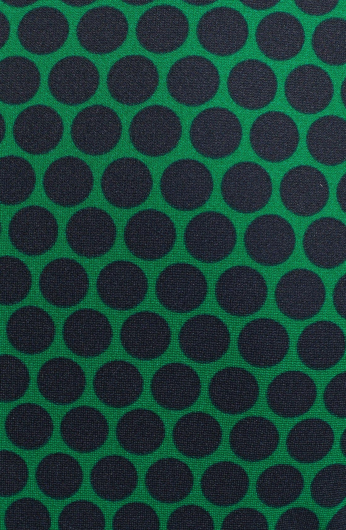 Alternate Image 3  - MICHAEL Michael Kors 'Deerfield' Dot Print Ponte Dress