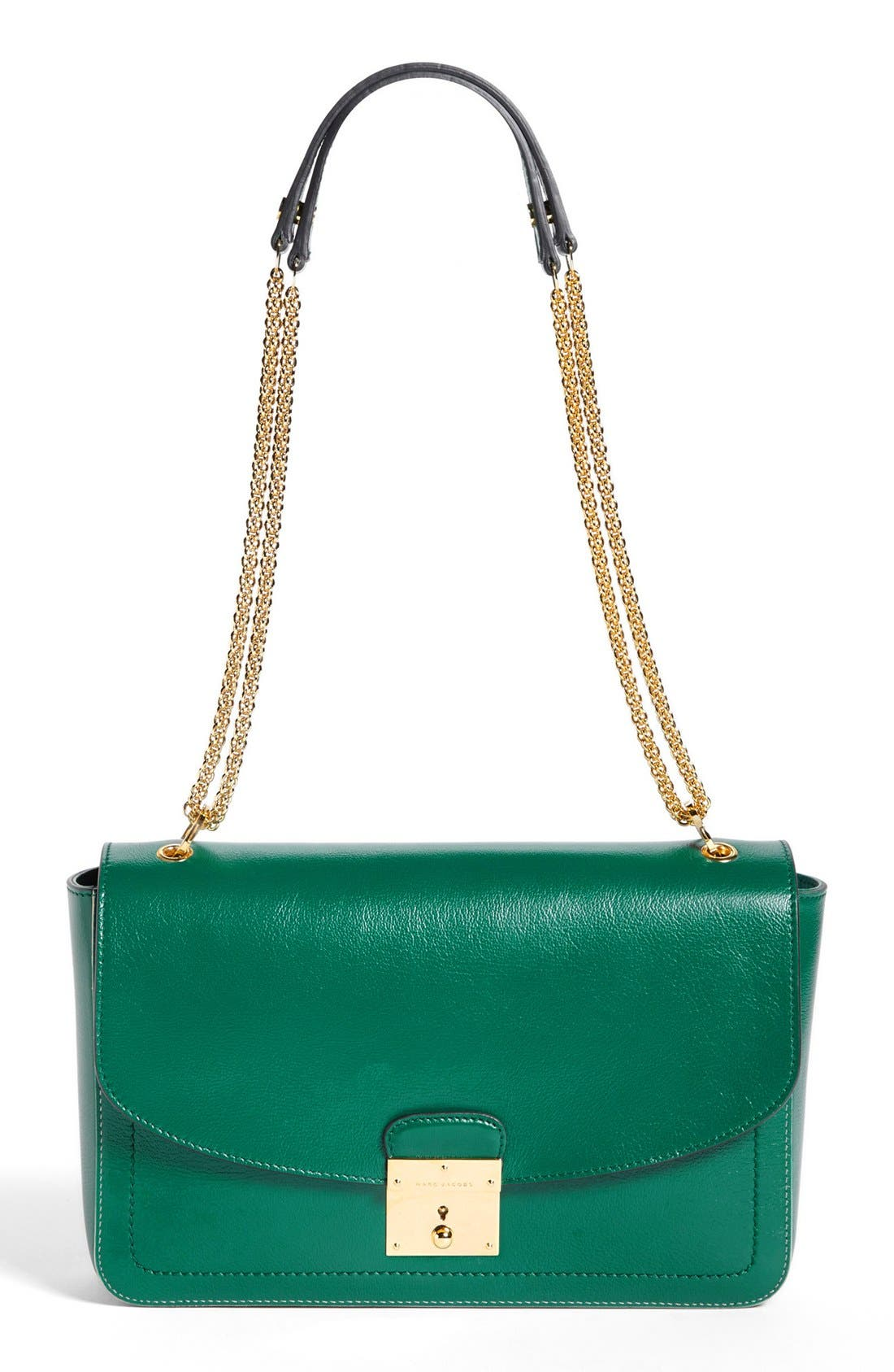 Main Image - MARC JACOBS '1984 - Polly' Leather Shoulder Bag