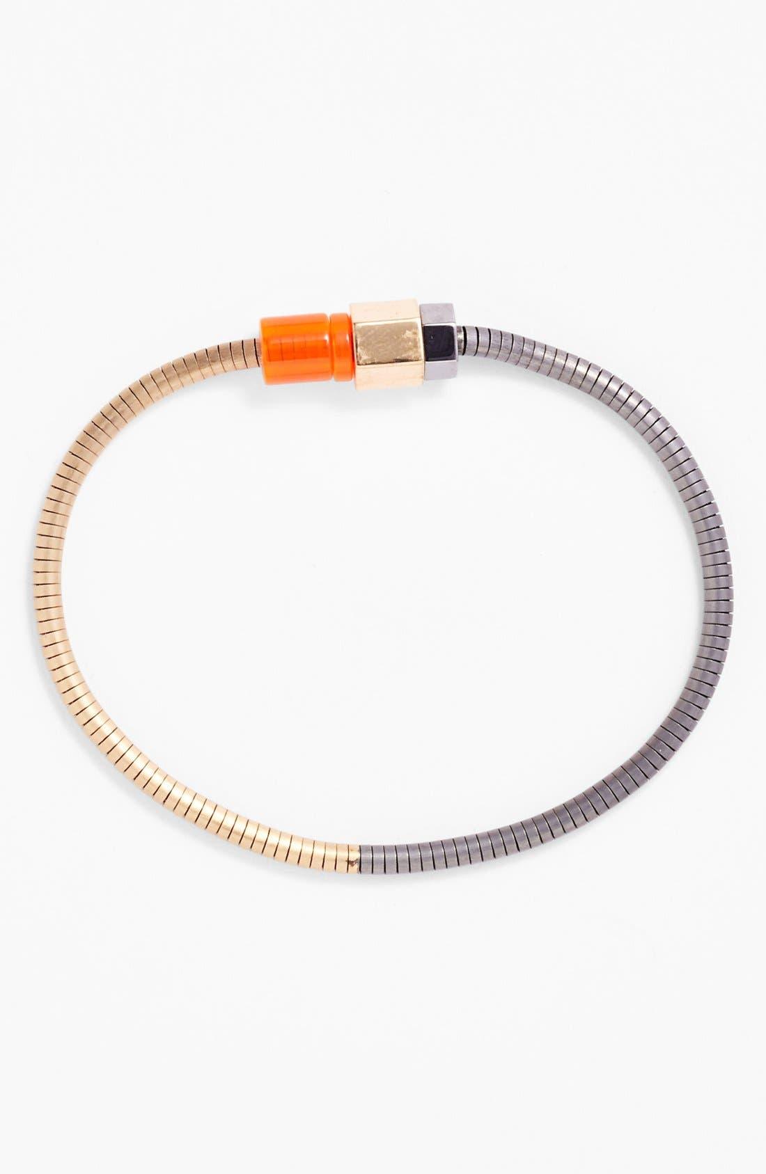 Alternate Image 1 Selected - Lanvin Metal Links Bracelet