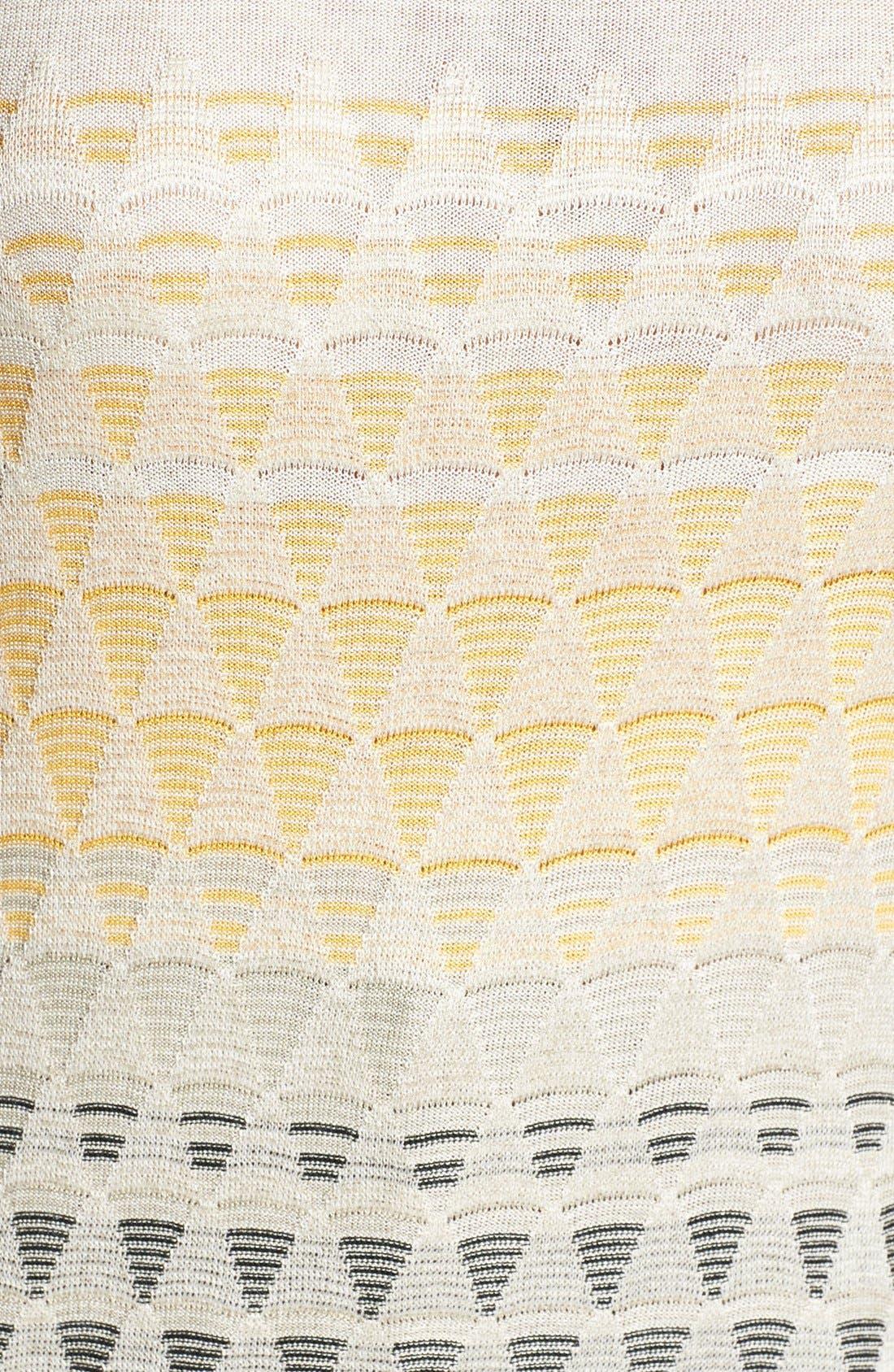 Alternate Image 3  - NIC+ZOE 'Ombréd Angles' Silk Blend Top (Plus Size)