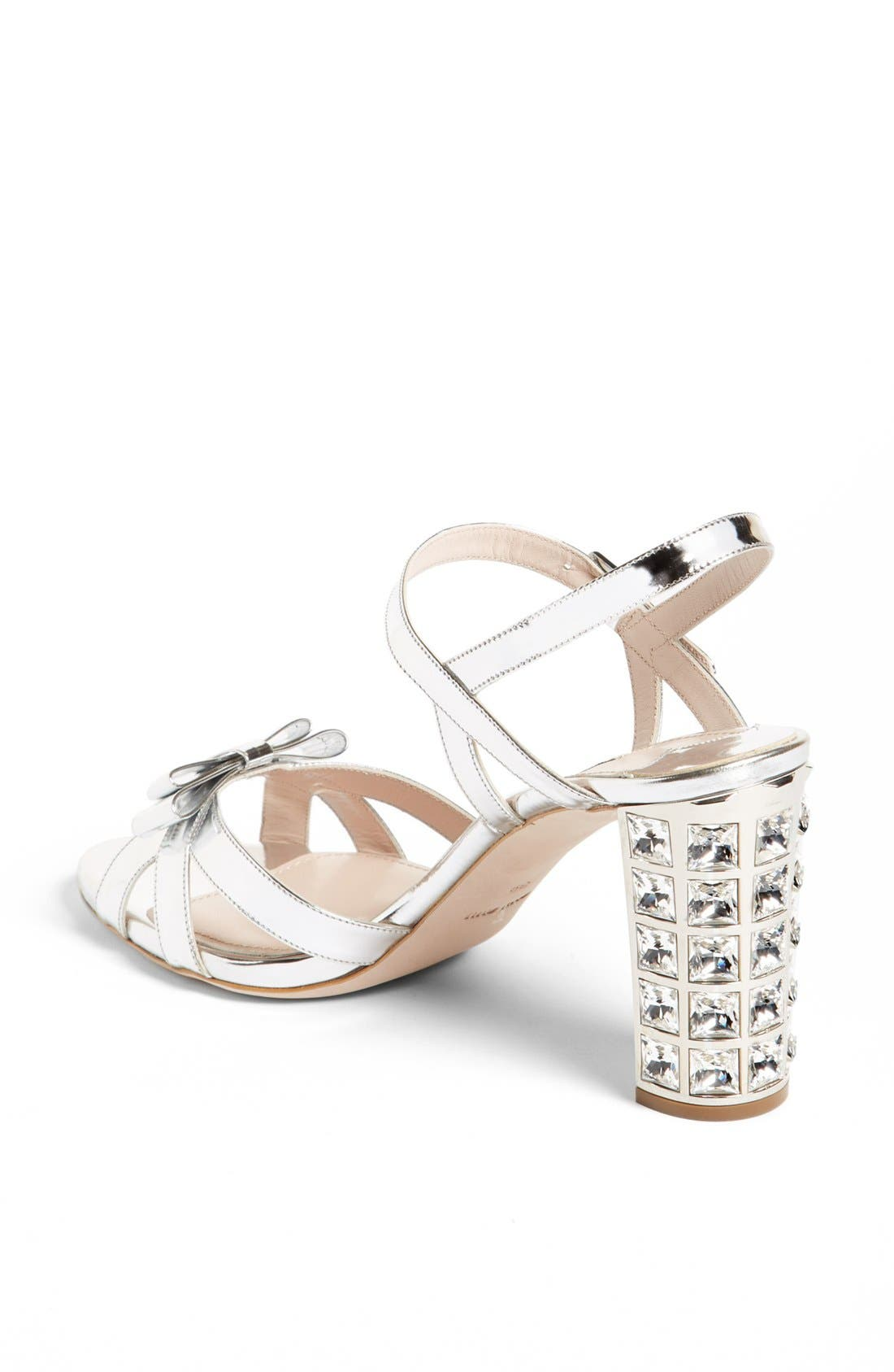 Alternate Image 2  - Miu Miu Bow Ankle Strap Sandal