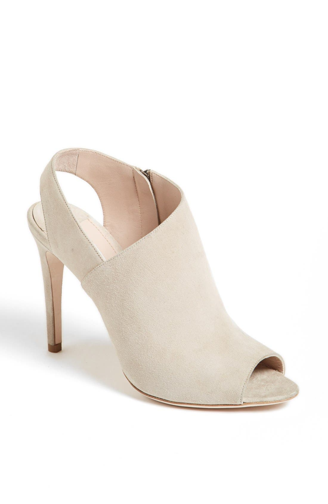 Alternate Image 1 Selected - Miu Miu Peep Toe Slingback Bootie