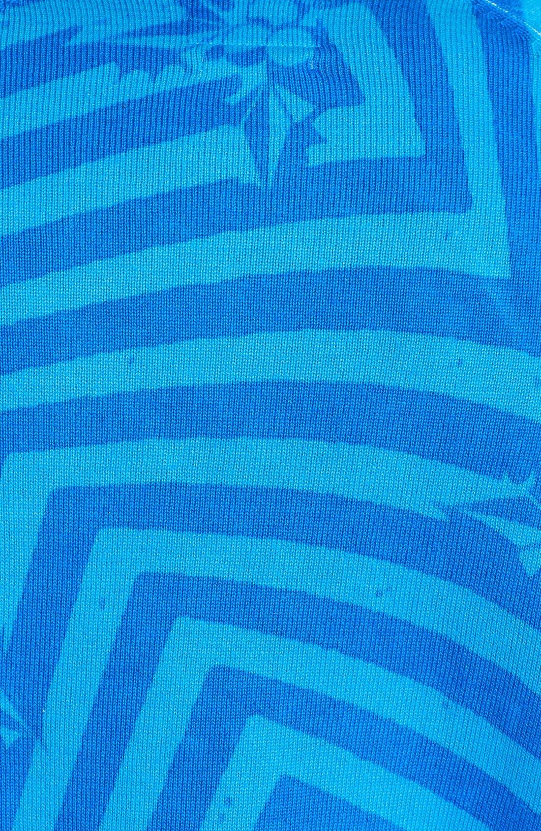 Alternate Image 3  - Volcom 'Knogger' Print Crewneck Sweater