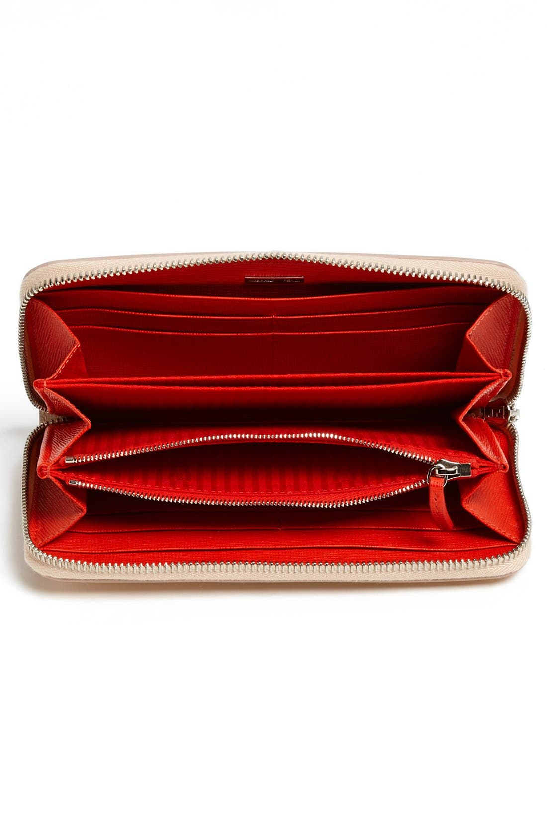 Alternate Image 2  - Fendi 'Crayons - Vernice' Leather Continental Wallet