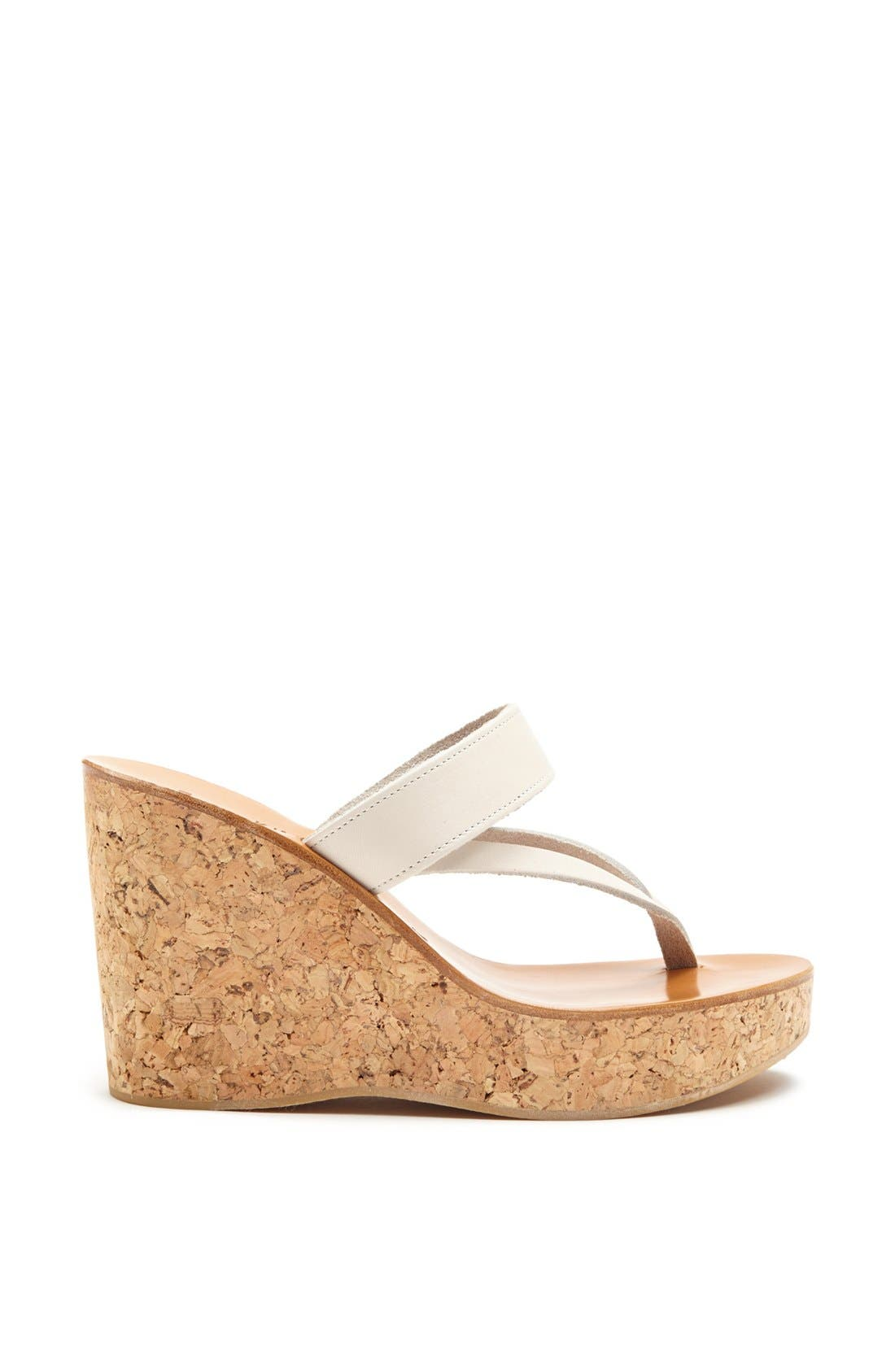 Alternate Image 3  - K.Jacques St. Tropez 'Saturnine' Cork Wedge Sandal