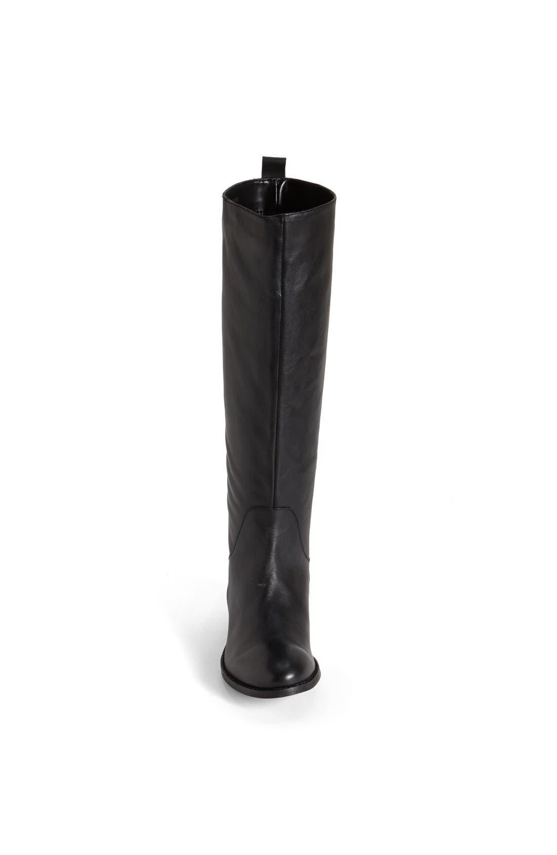 Alternate Image 3  - Topshop 'Dancer' Leather Riding Boot