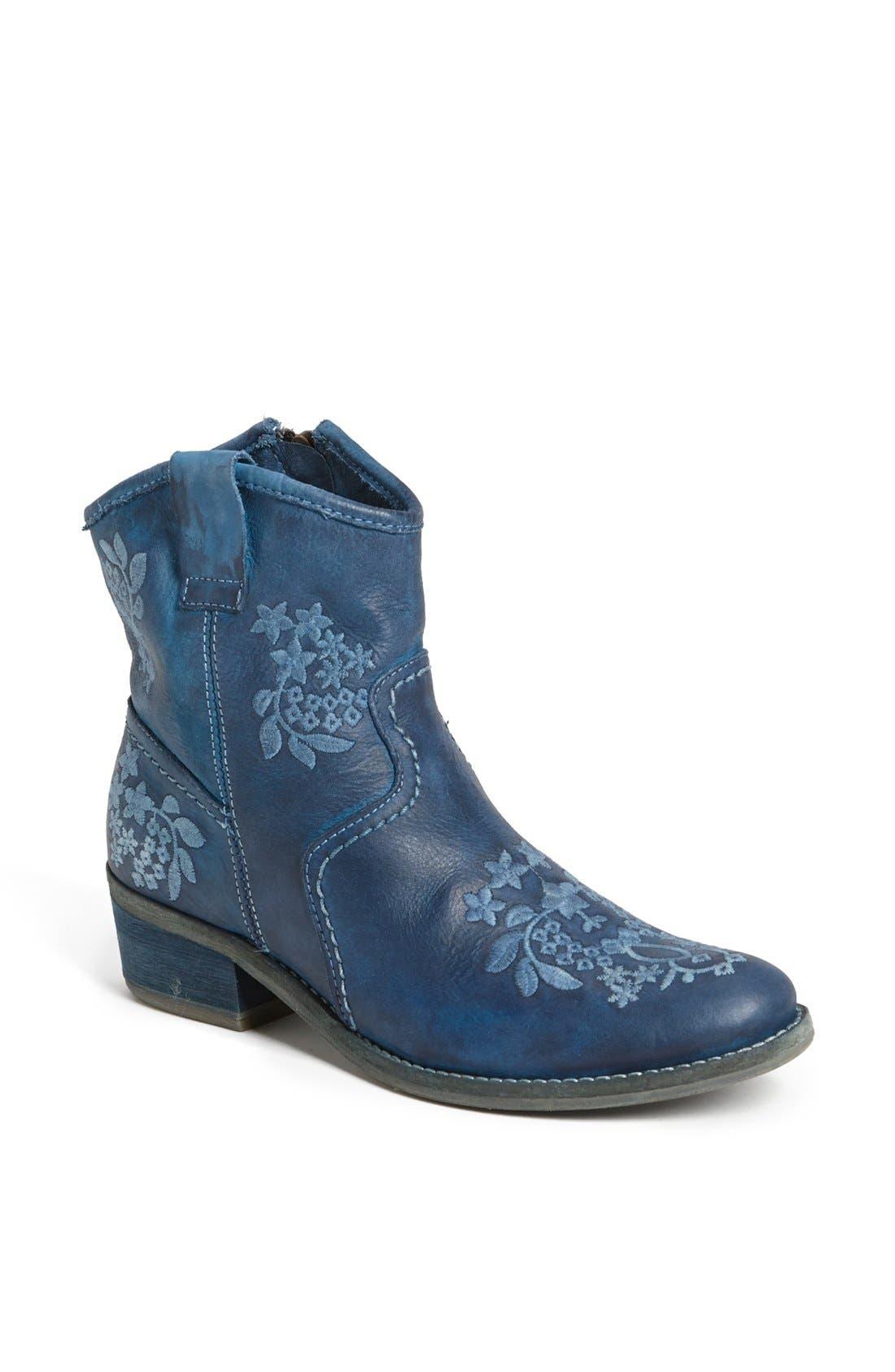 Alternate Image 1 Selected - Miz Mooz 'Leandra' Embroidered Leather Bootie