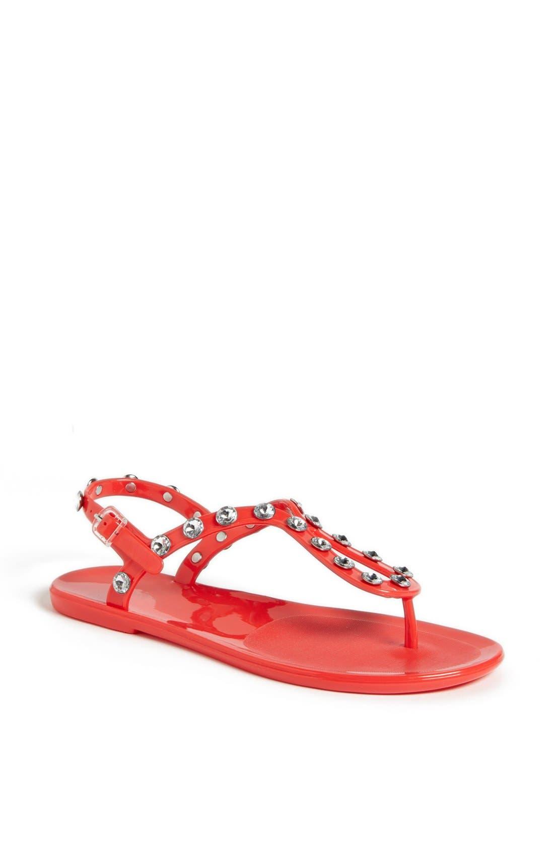 Main Image - Holster Fashion 'Supermodel' Jelly Thong Sandal