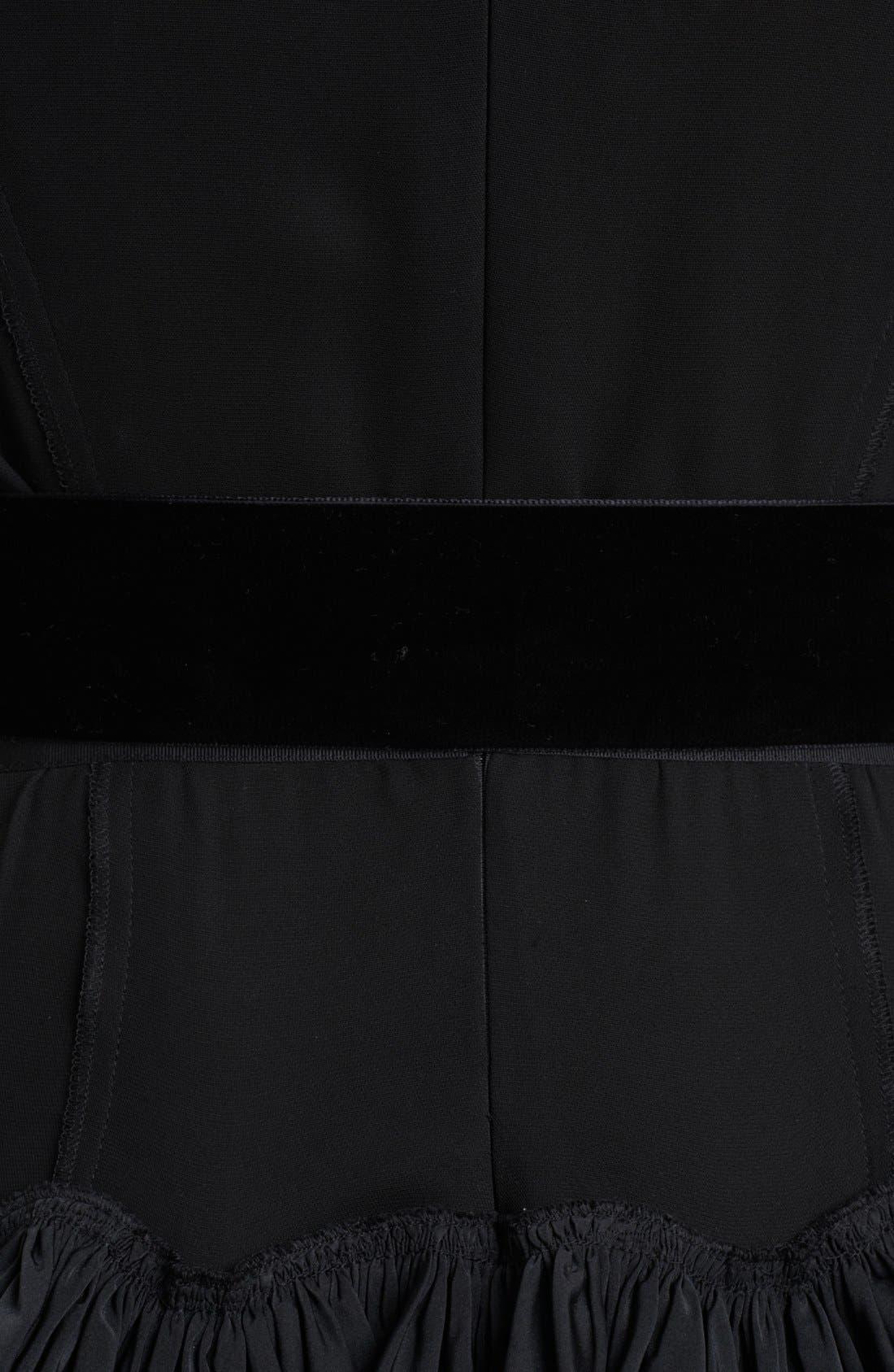 Alternate Image 3  - Nina Ricci Belted Full Skirt Dress