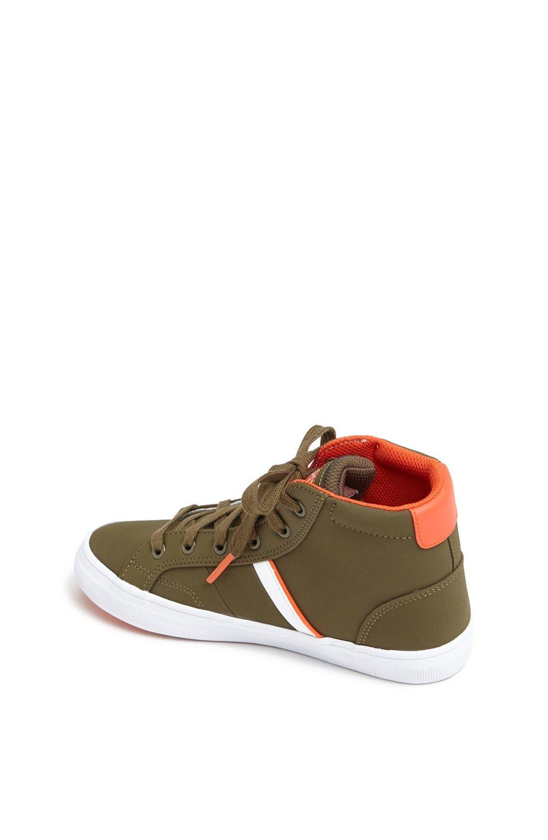 Alternate Image 2  - Lacoste 'Fairlead' High Top Sneaker (Toddler, Little Kid & Big Kid)