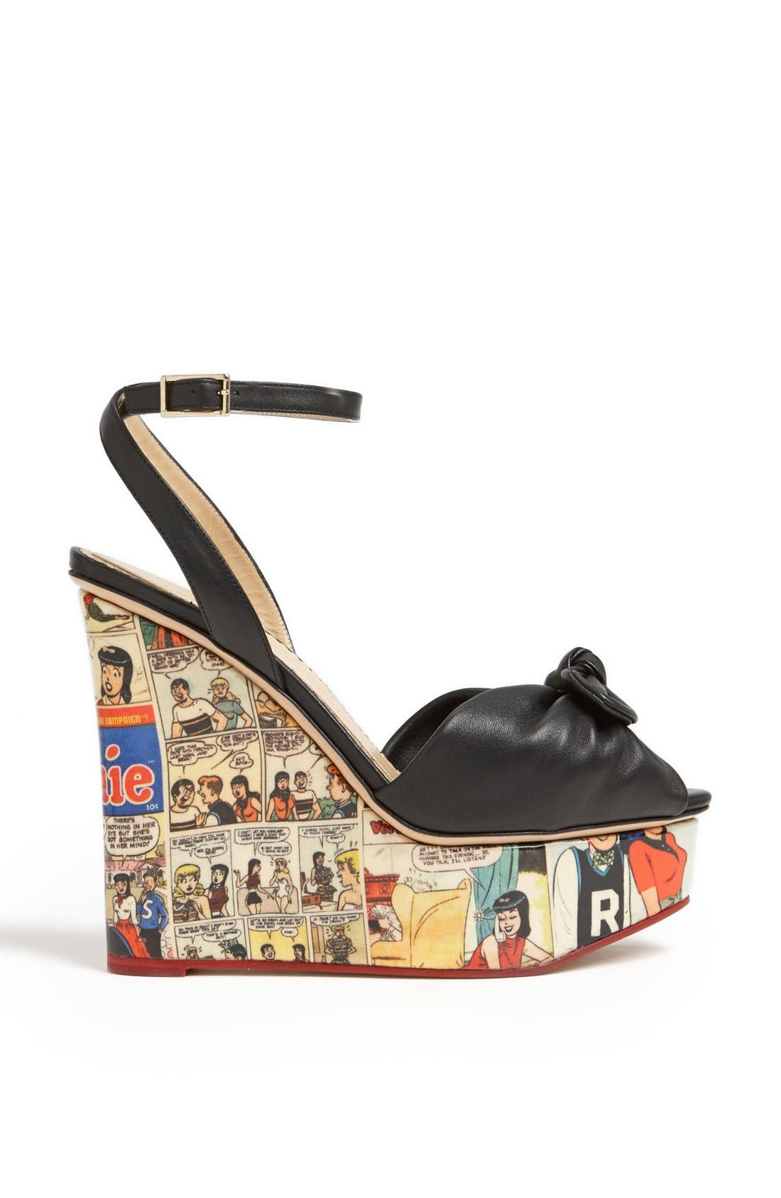 Alternate Image 4  - Charlotte Olympia 'Archie' Wedge Sandal (Nordstrom Exclusive)