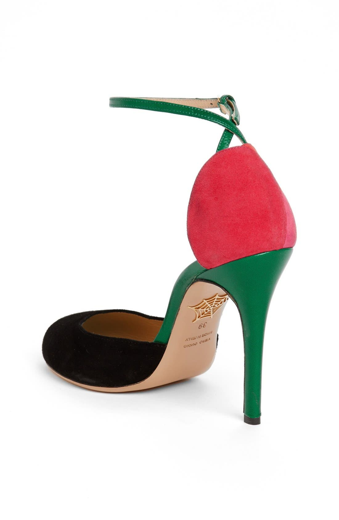 Alternate Image 2  - Charlotte Olympia 'Cherry' Ankle Strap Pump