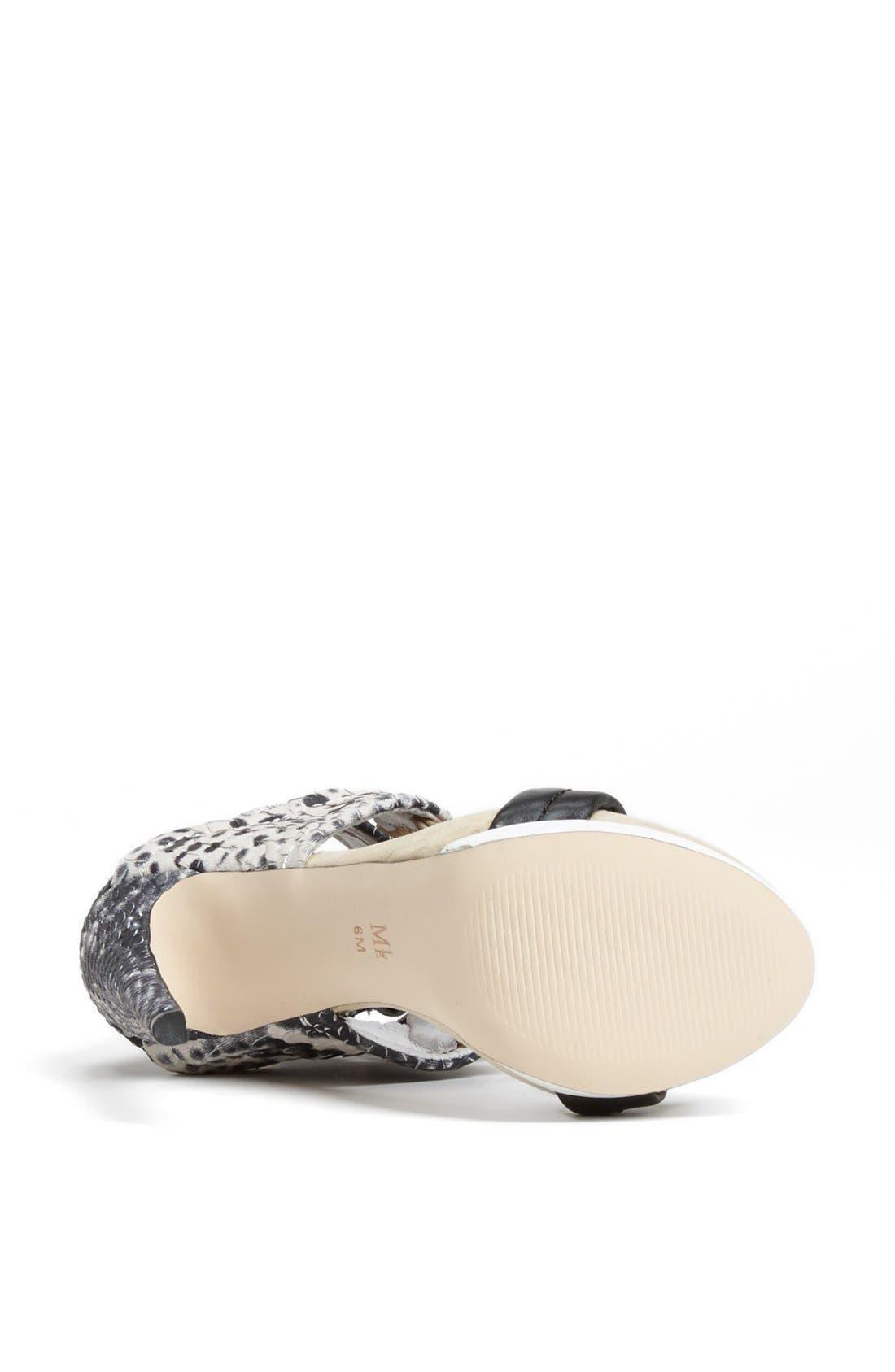 Alternate Image 4  - MIA Limited Edition 'Rocco' Platform Sandal