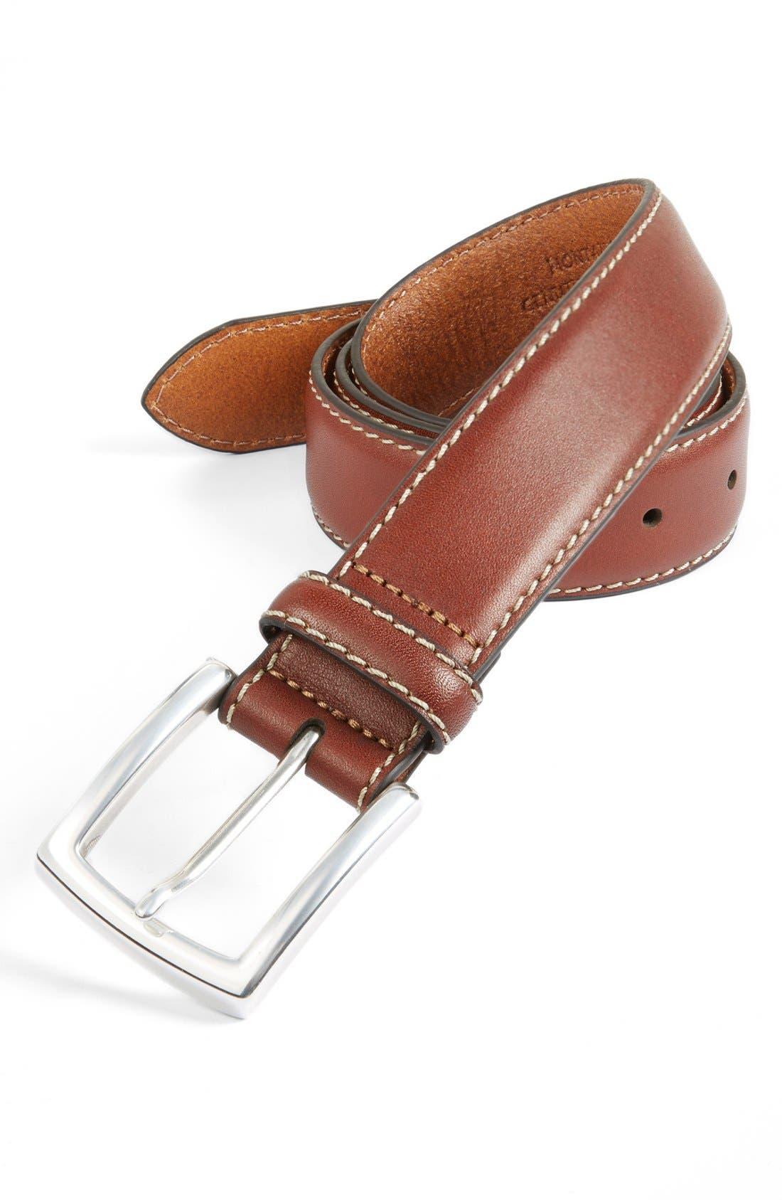 Alternate Image 1 Selected - Trafalgar 'Montana' Leather Belt