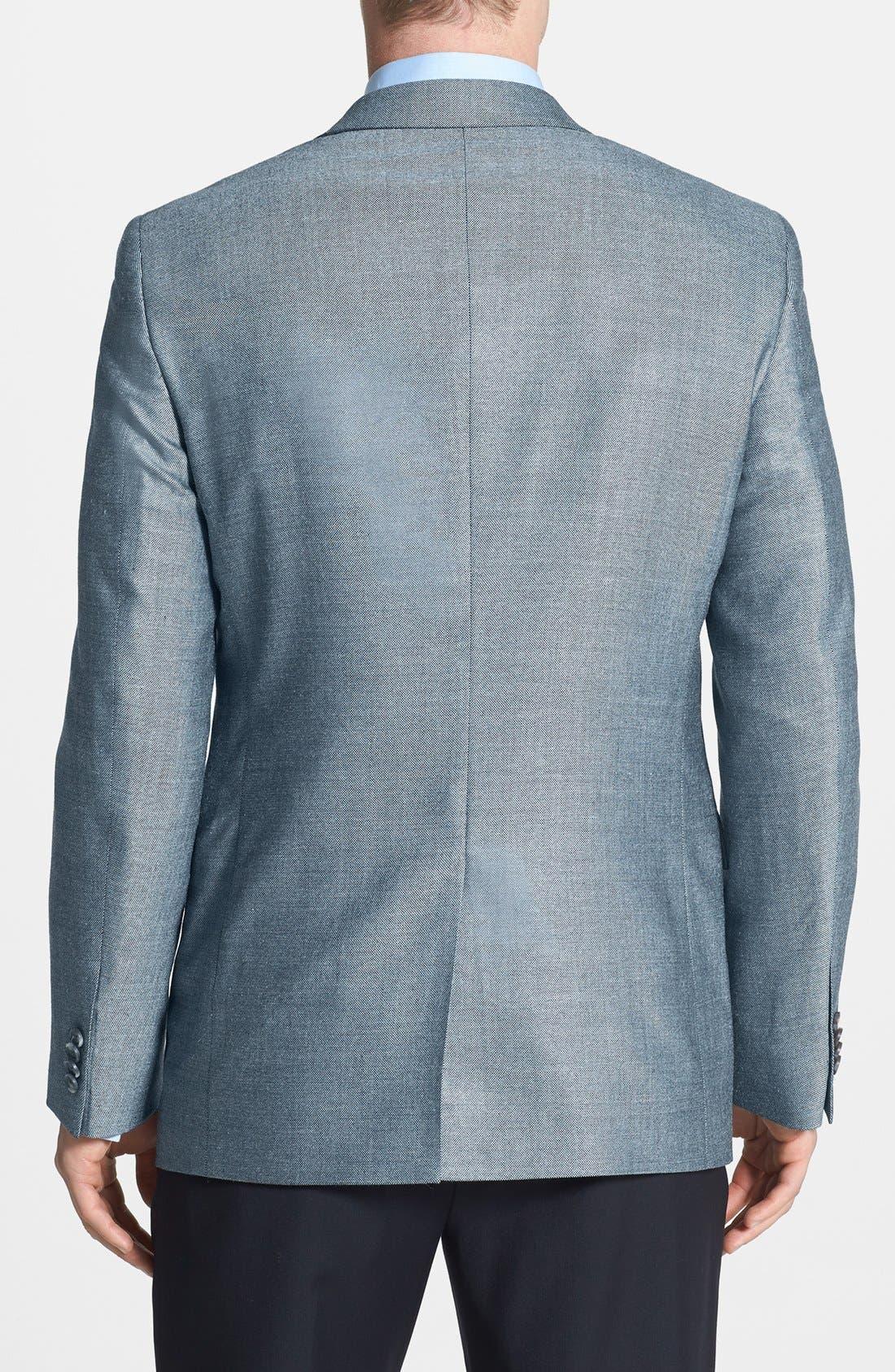 Alternate Image 2  - John W. Nordstrom® Classic Fit Silk Blend Sportcoat