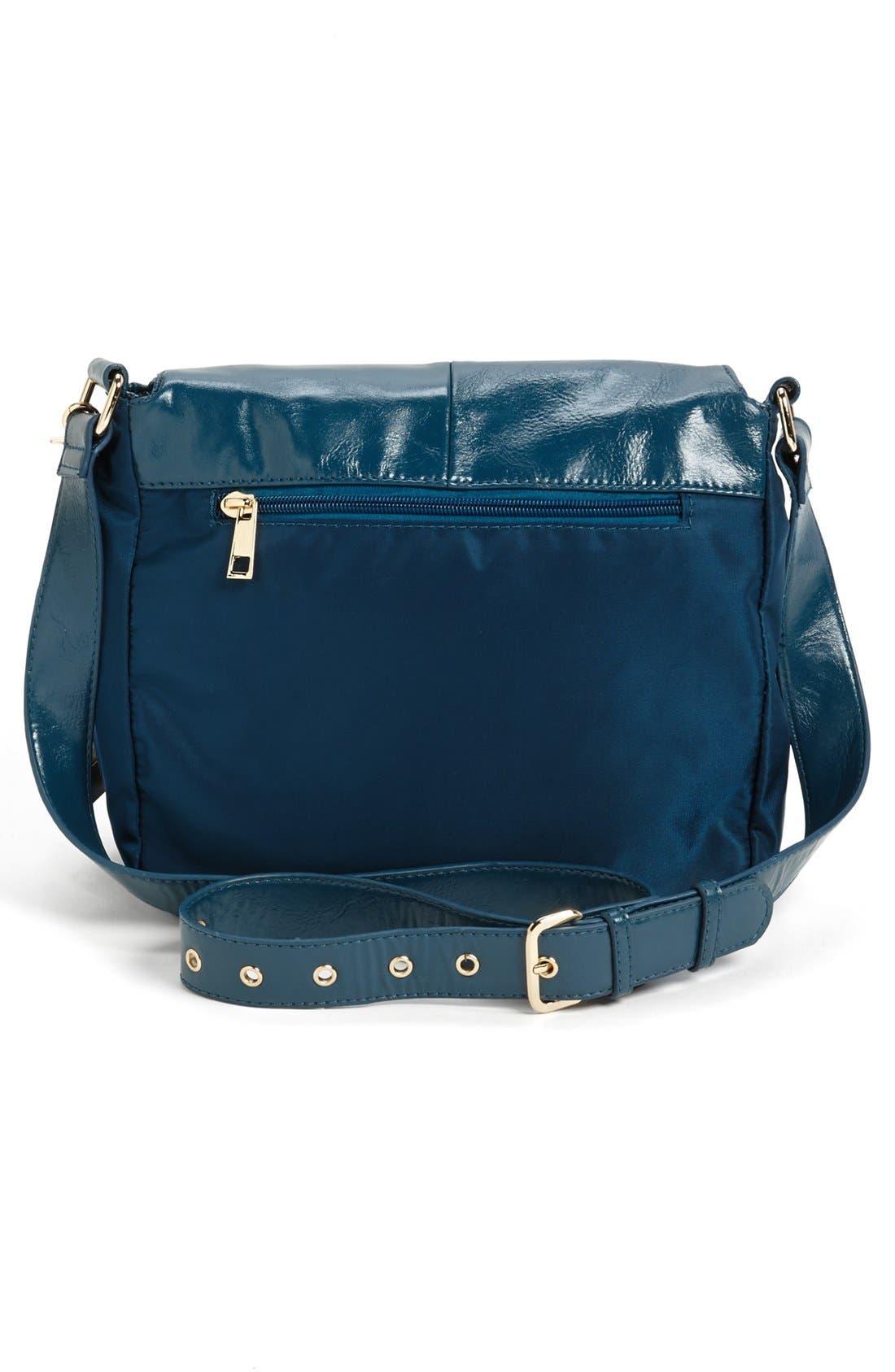 Alternate Image 4  - POVERTY FLATS by rian Nylon Crossbody Bag