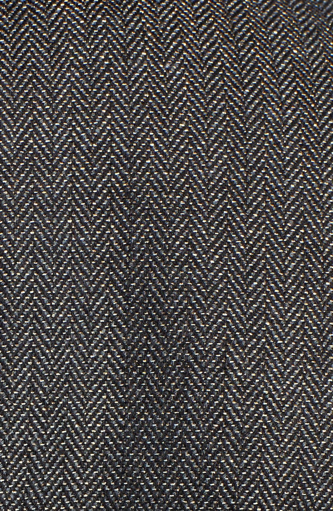 Alternate Image 3  - Hinge® Herringbone Peplum Blazer