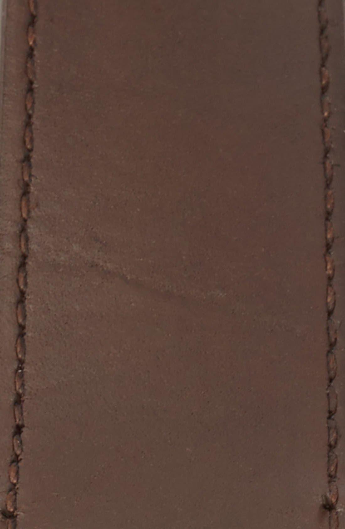 Alternate Image 2  - Polo Ralph Lauren Reversible Tumbled Leather Belt