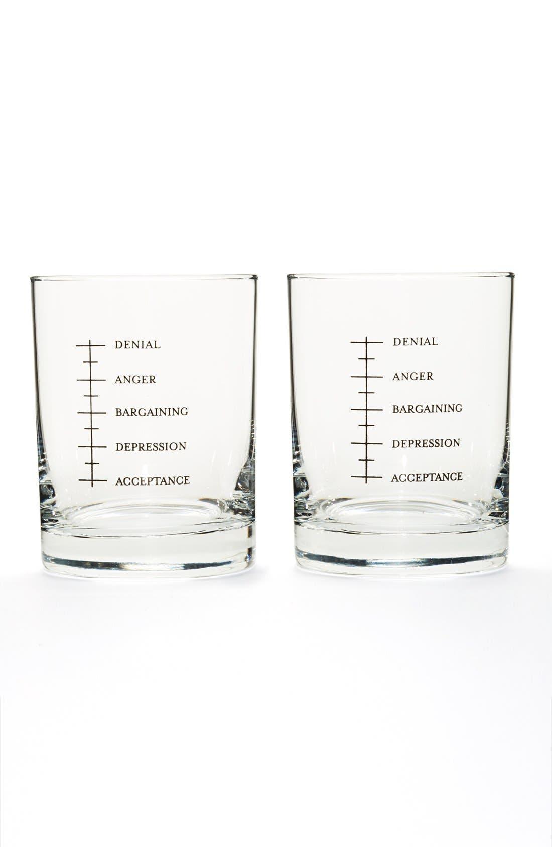Alternate Image 1 Selected - Set Editions 'Good Grief' Shot Glasses (Set of 2)