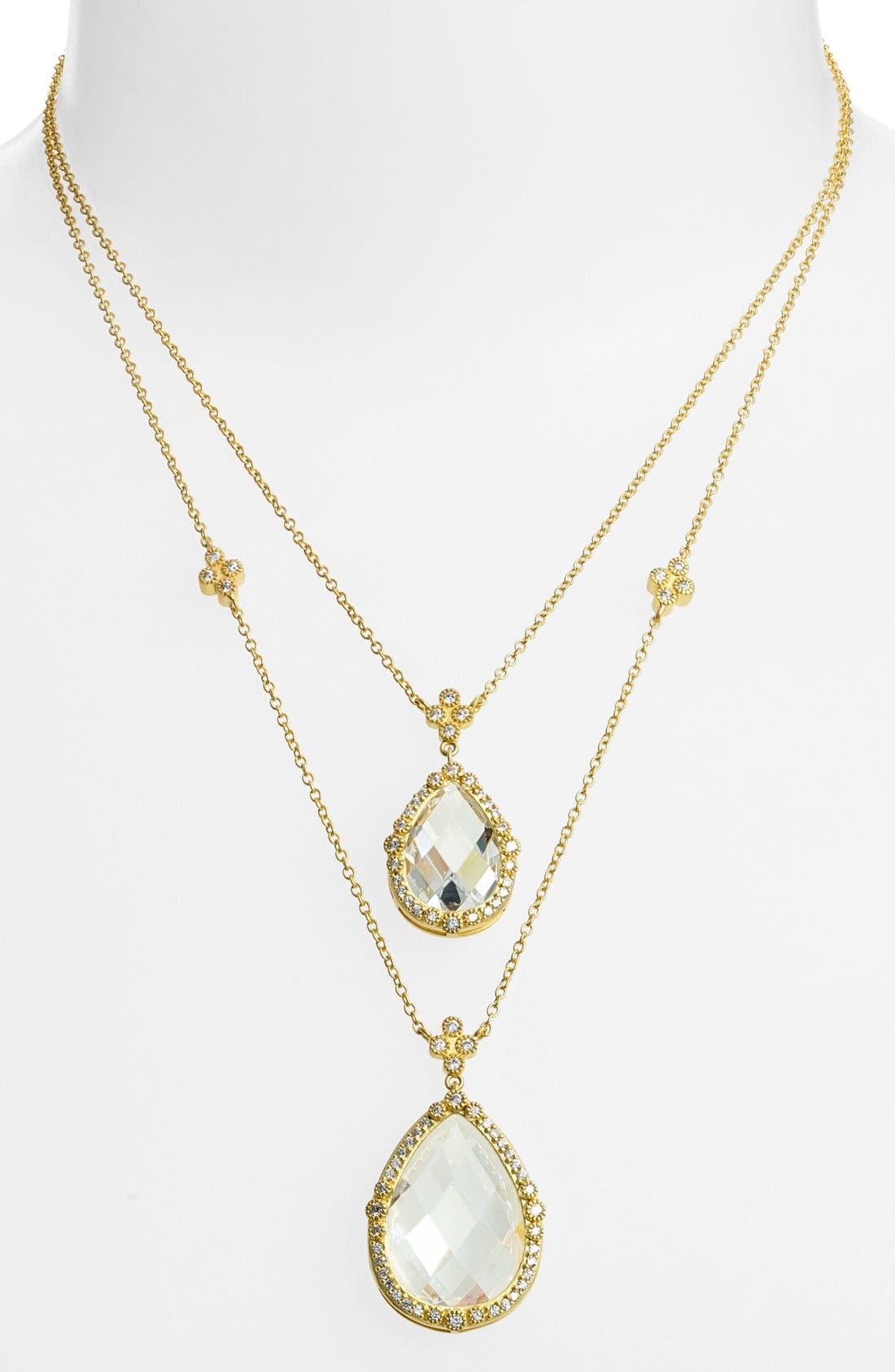 Alternate Image 1 Selected - FREIDA ROTHMAN 'Metropolitan' Multistrand Pendant Necklace