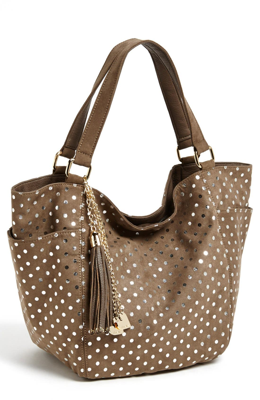 Alternate Image 1 Selected - Deux Lux Faux Suede Tote