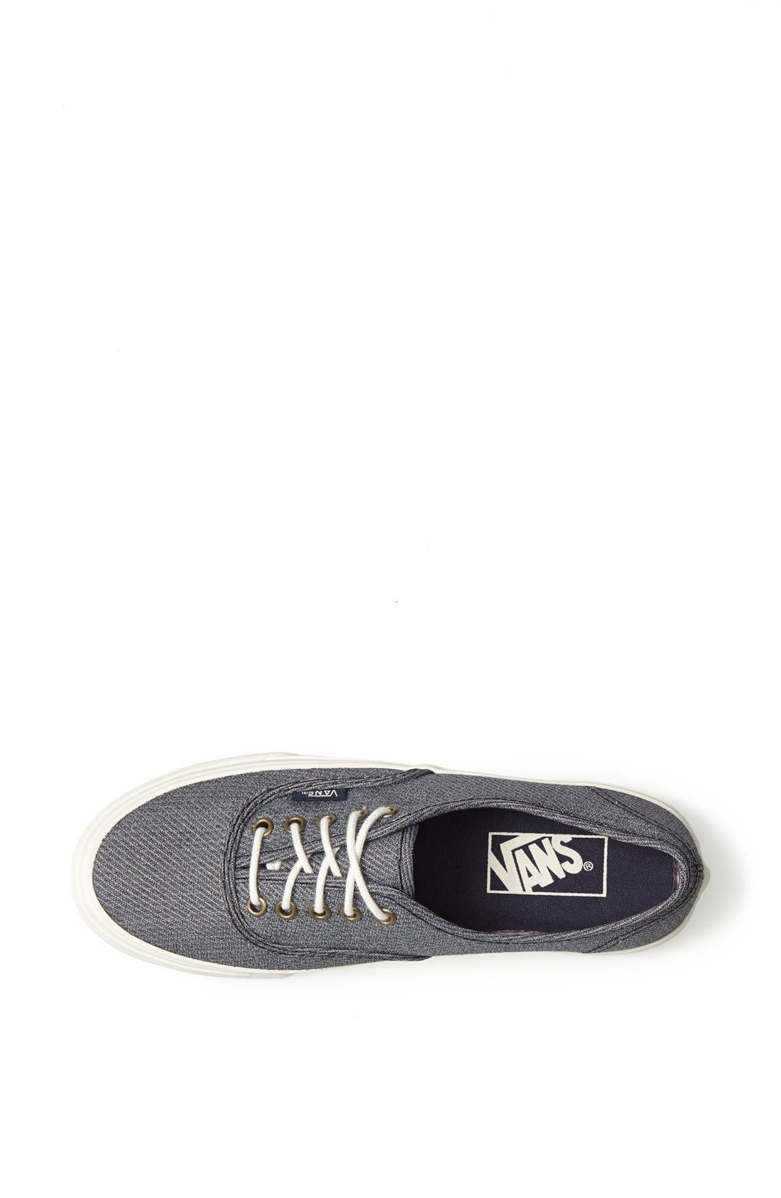 Alternate Image 3  - Vans 'Authentic - Slim' Sneaker (Women)