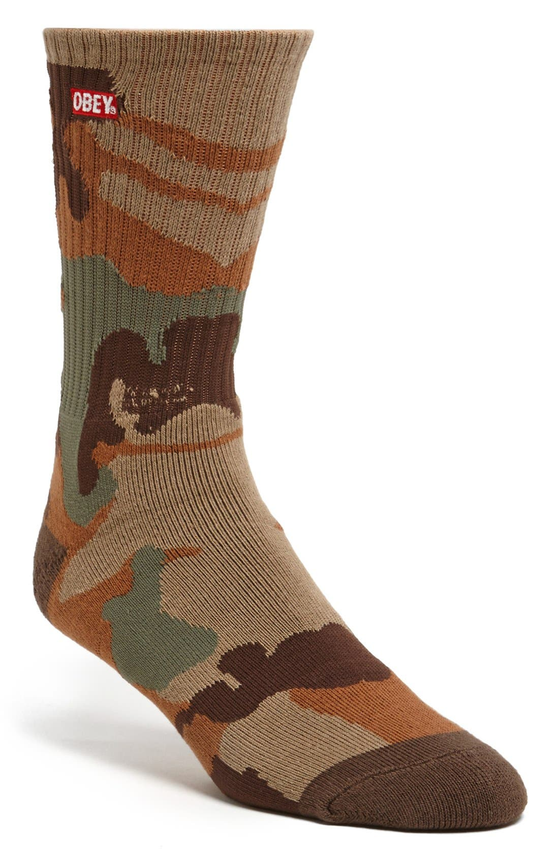 Alternate Image 1 Selected - Obey 'Quality Dissent' Socks