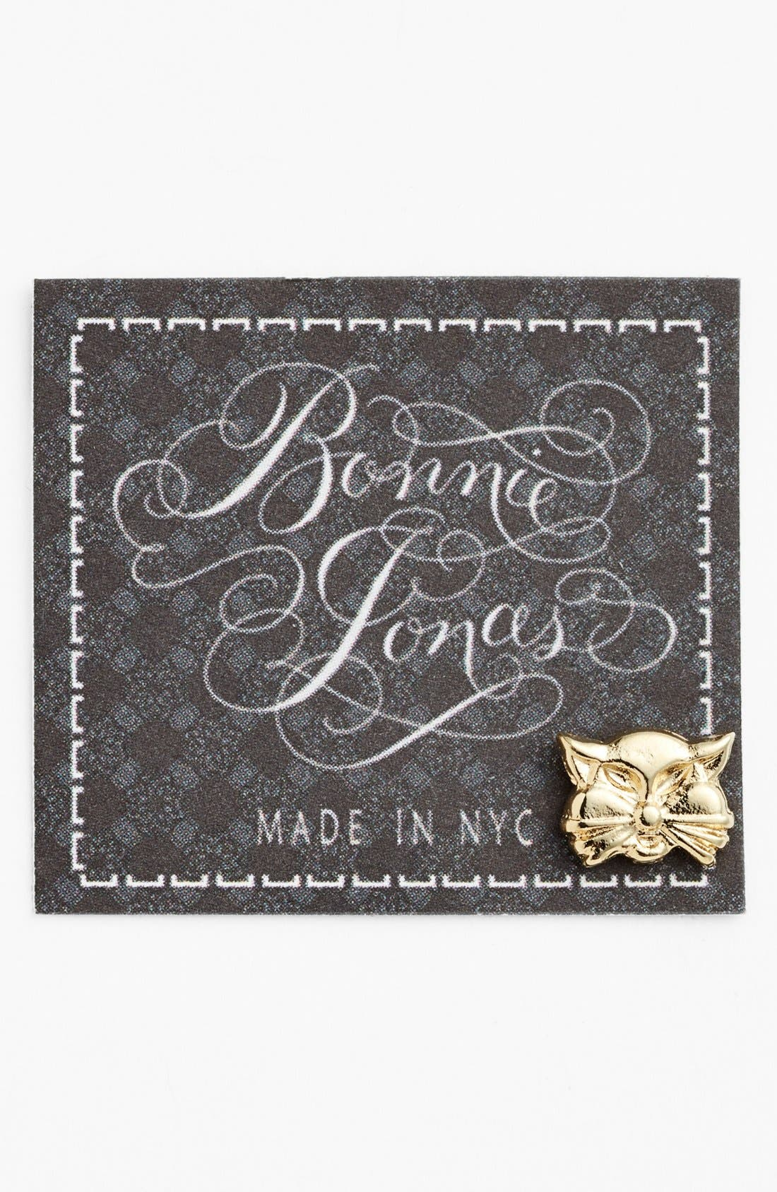 Alternate Image 1 Selected - Bonnie Jonas Cat Single Stud Earring
