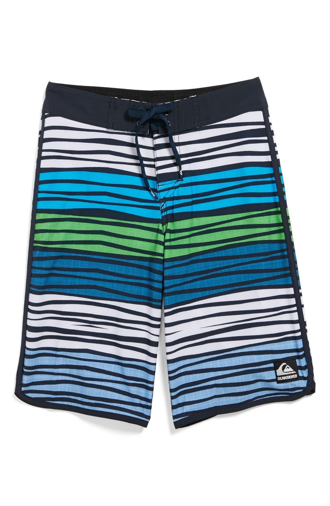 Main Image - Quiksilver 'Ratio' Board Shorts (Big Boys)