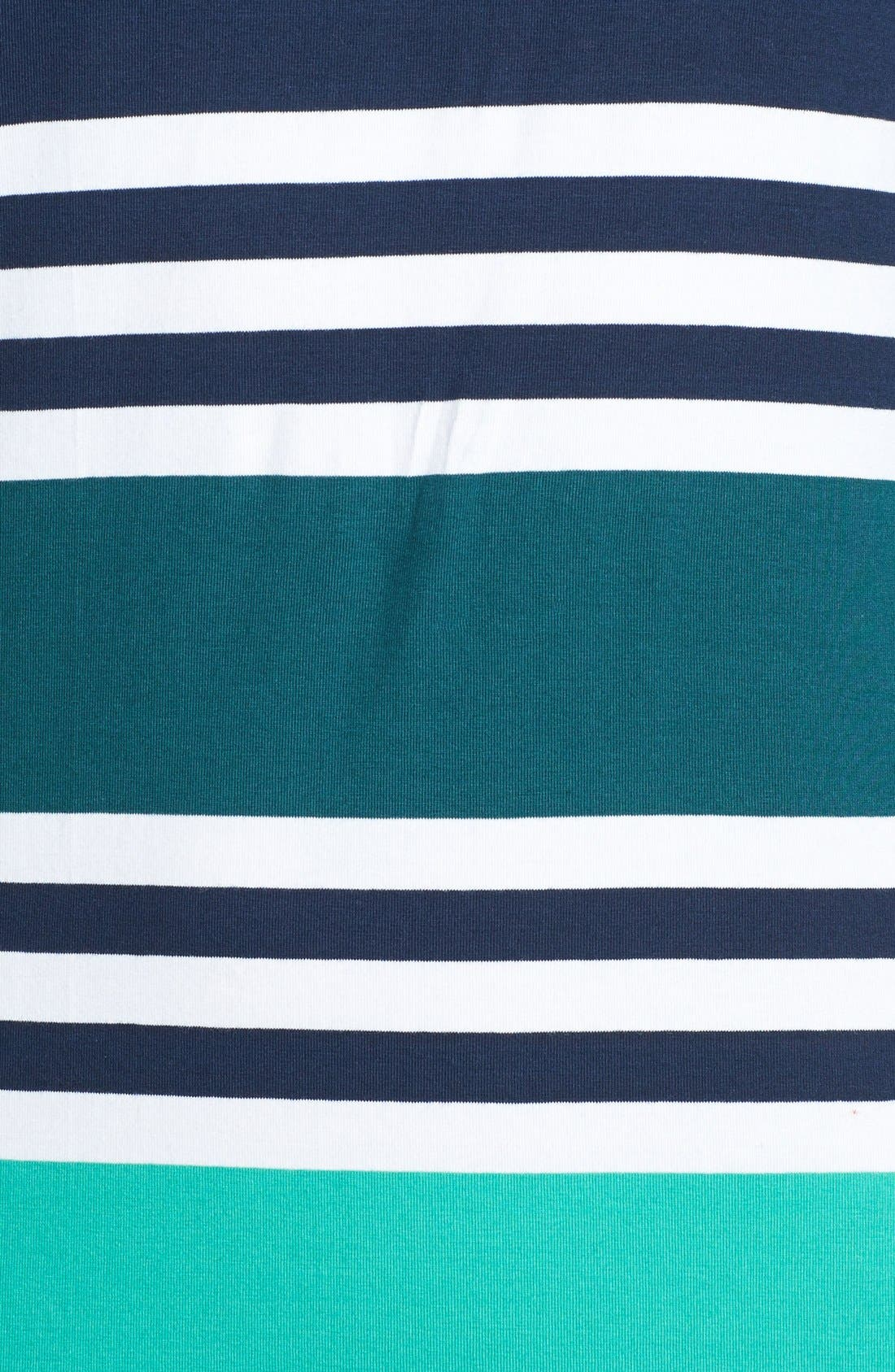 Alternate Image 4  - French Connection 'Jag' Multi Stripe Jersey Dress
