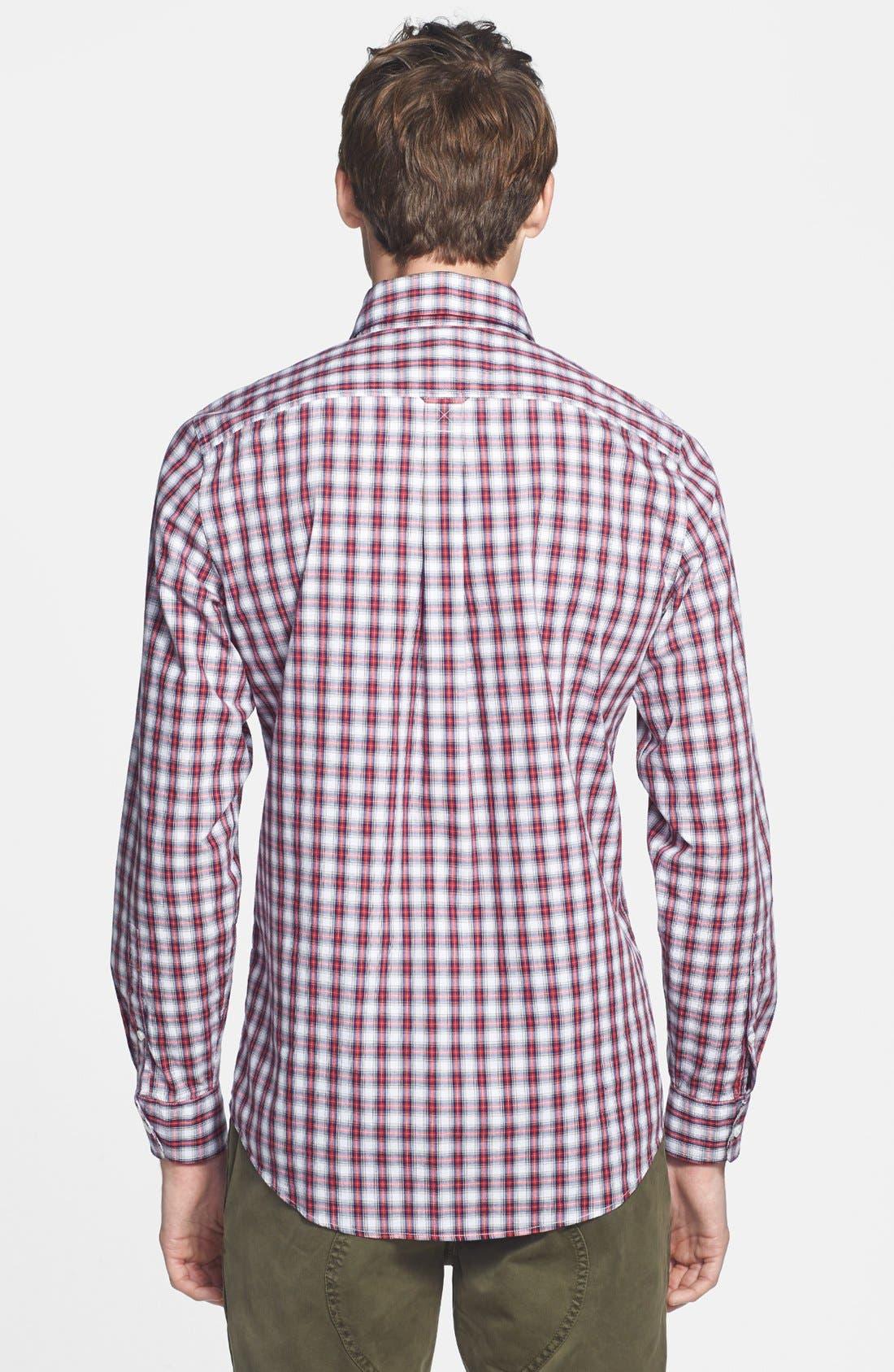 Alternate Image 2  - Jack Spade 'Hawley' Plaid Shirt