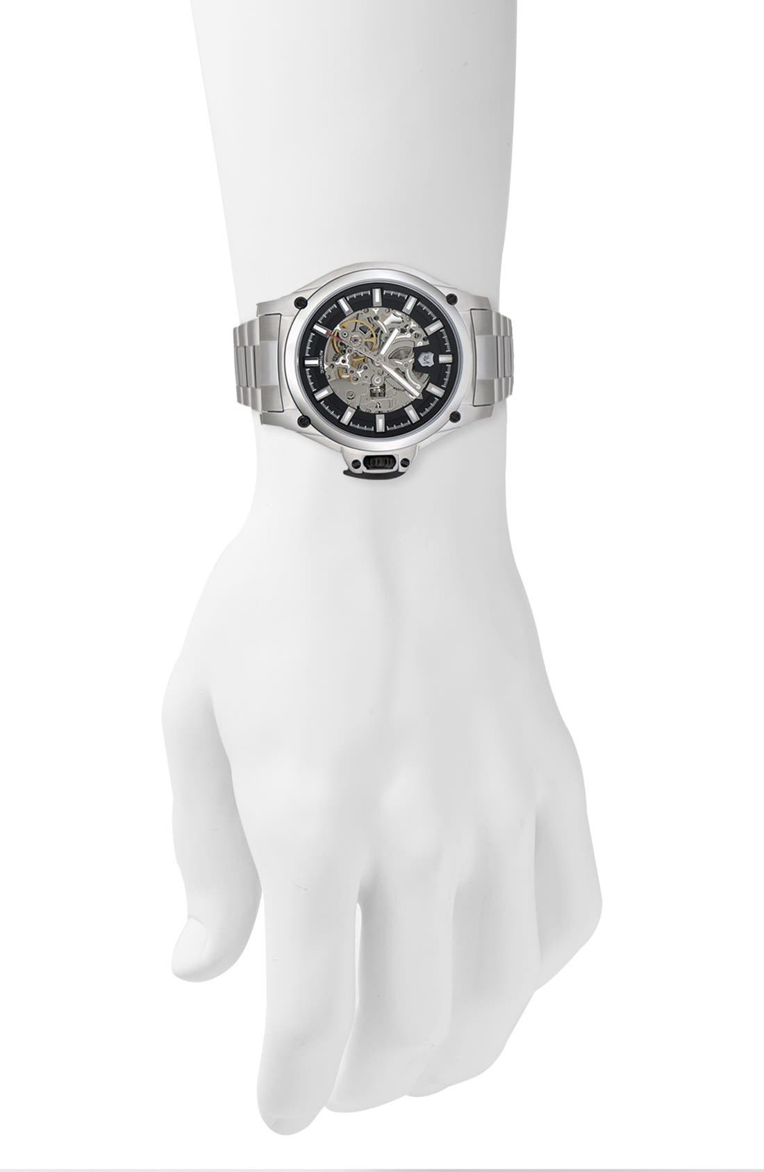 Alternate Image 2  - Andrew Marc Watches 'G-III Pro' Automatic Bracelet Watch, 44mm