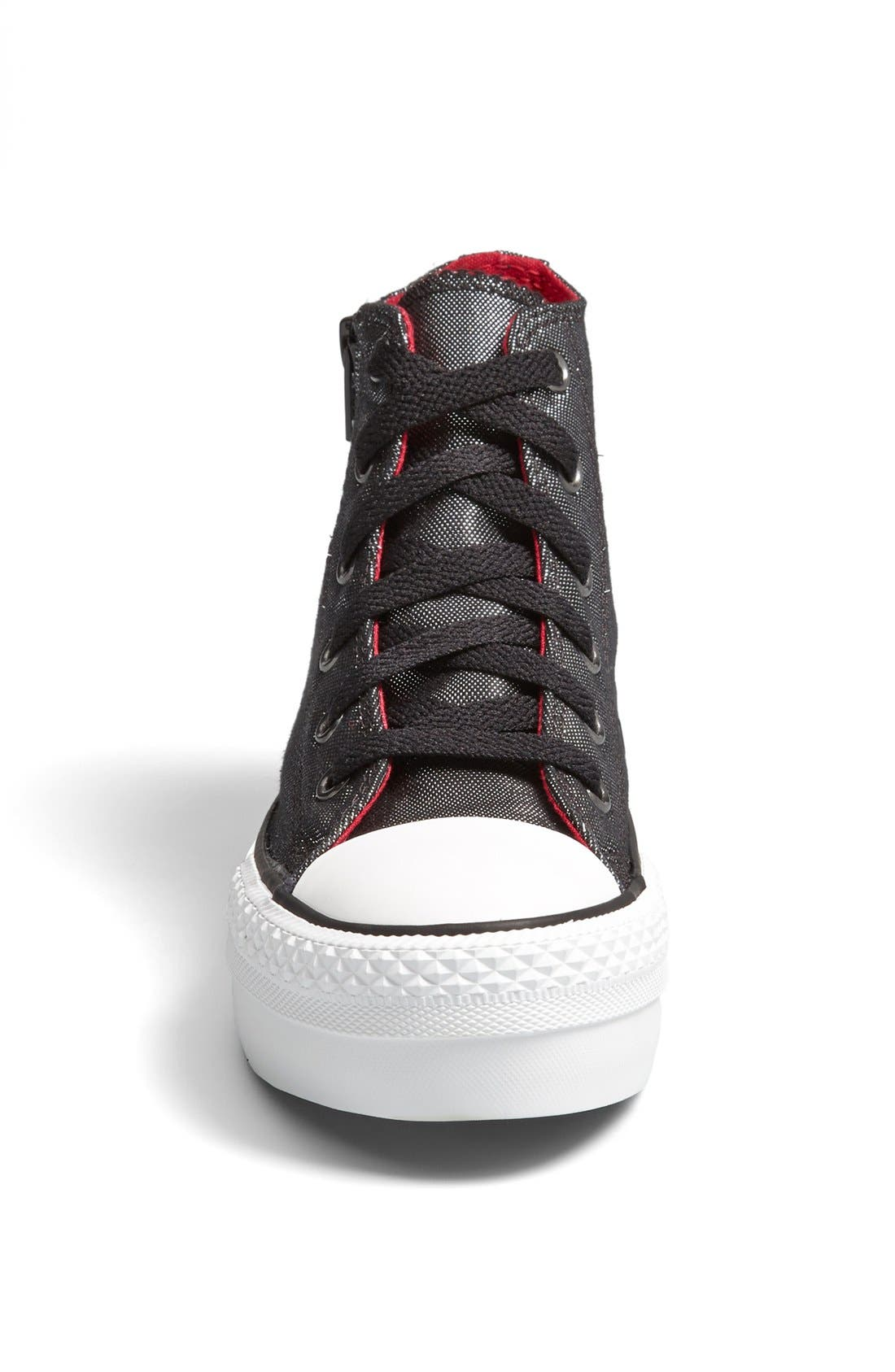 Alternate Image 3  - Converse Chuck Taylor® All Star® 'CT AS' Platform Zip Sneaker (Toddler, Little Kid & Big Kid)