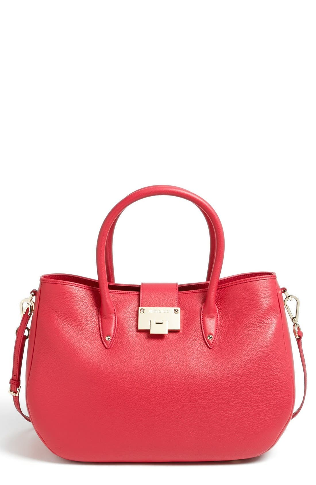 Alternate Image 1 Selected - Jimmy Choo 'Rania' Leather Satchel