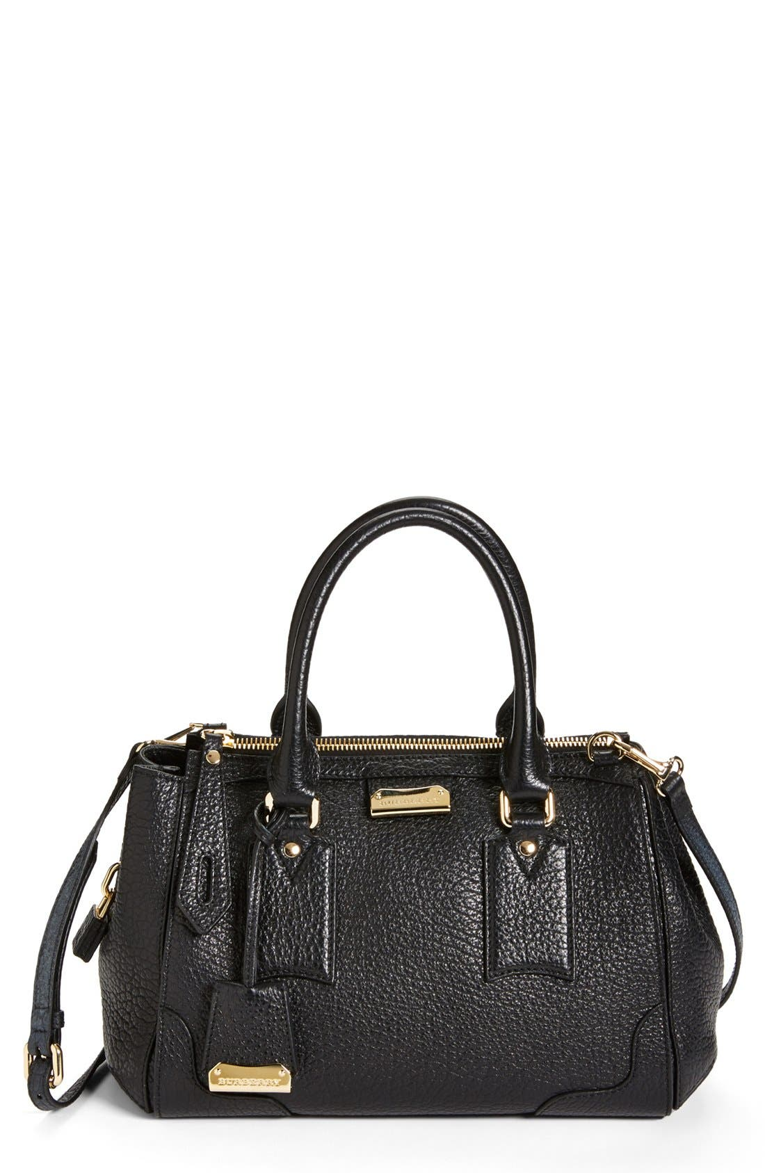 Alternate Image 1 Selected - Burberry 'Gladstone - Small' Leather Satchel