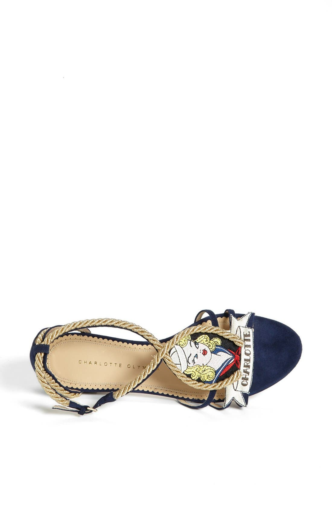 Alternate Image 3  - Charlotte Olympia 'Ahoy Sailor' Sandal