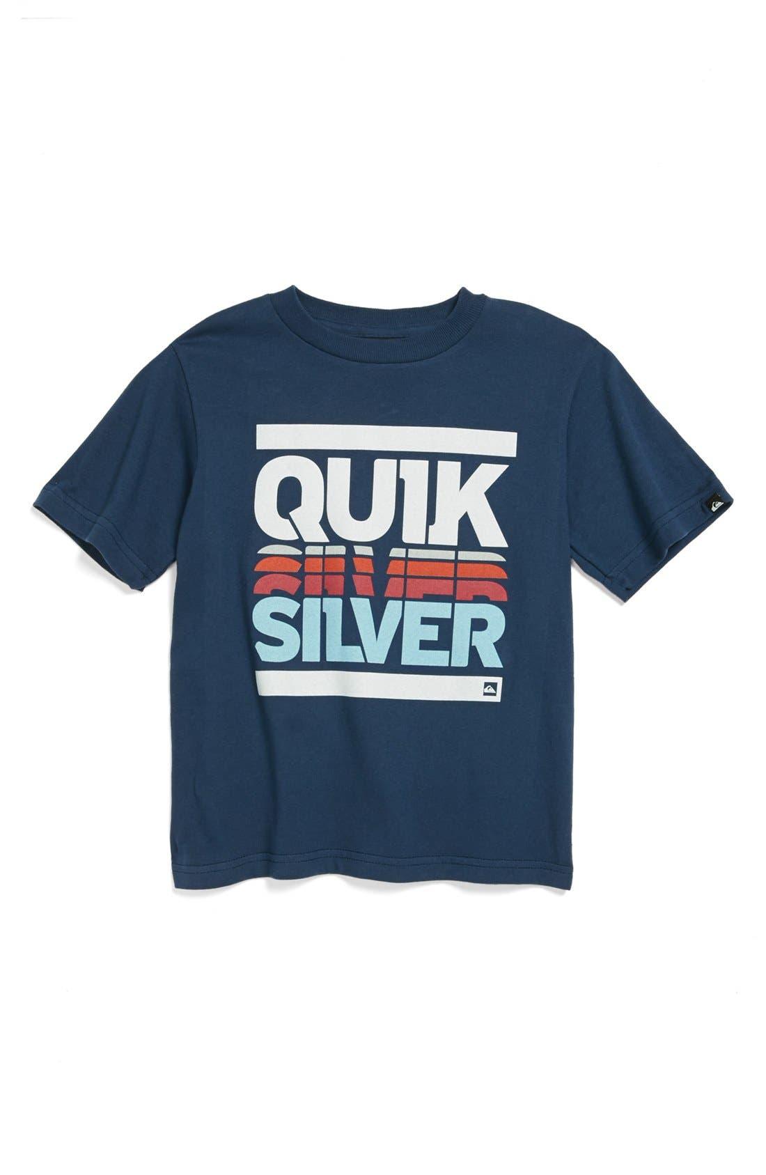 Alternate Image 1 Selected - Quiksilver 'Headset' T-Shirt (Big Boys)