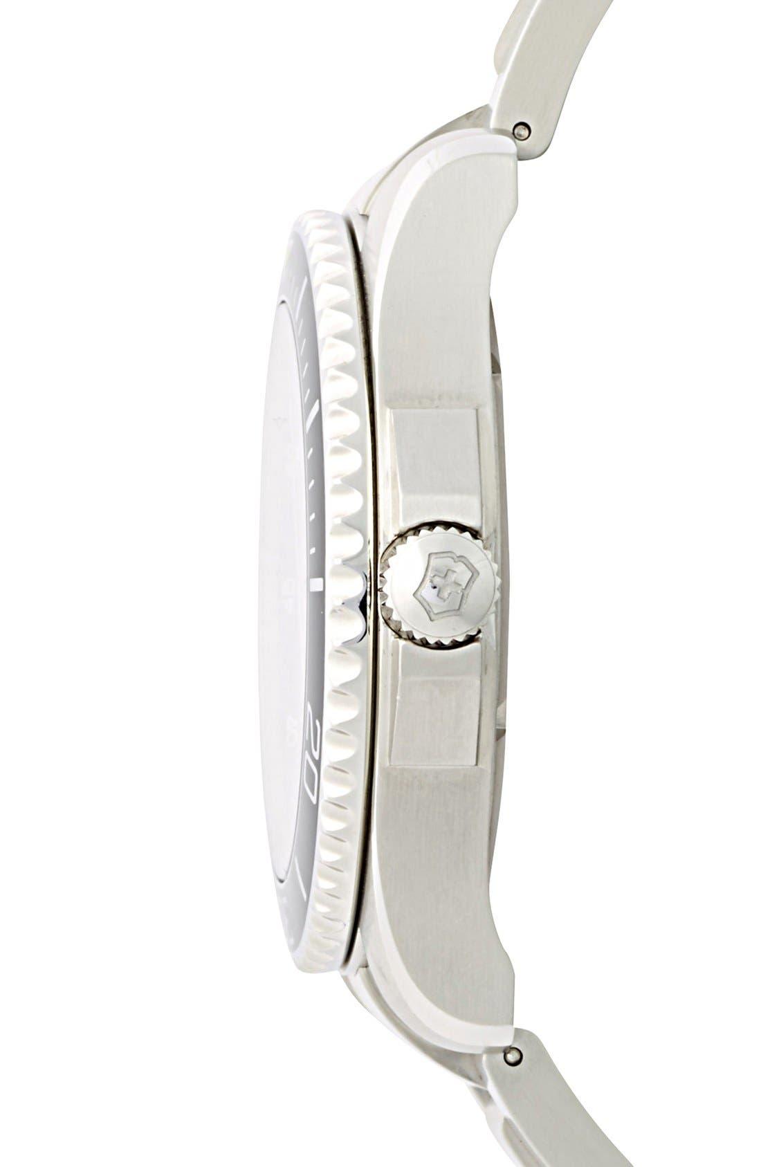 Alternate Image 3  - Victorinox Swiss Army® 'Maverick GS' Stainless Steel Watch, 43mm