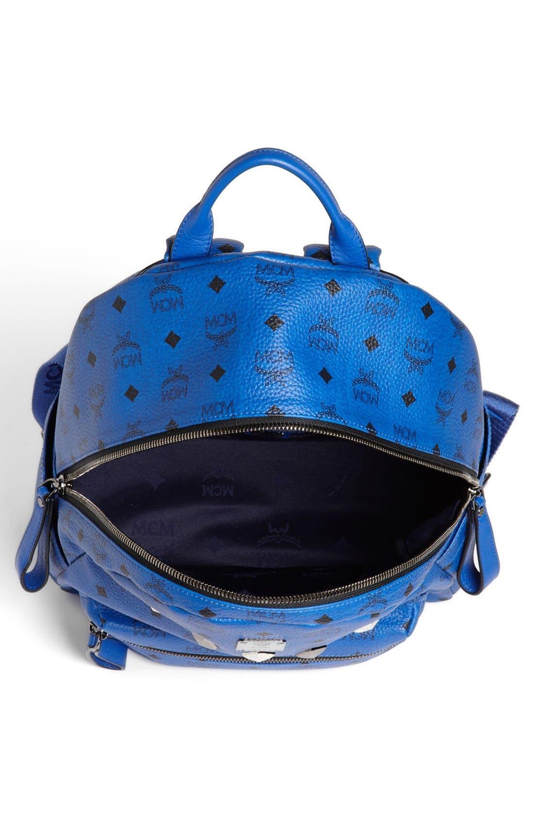 Alternate Image 2  - MCM 'Sprinkle Stud - Medium' Coated Canvas Backpack