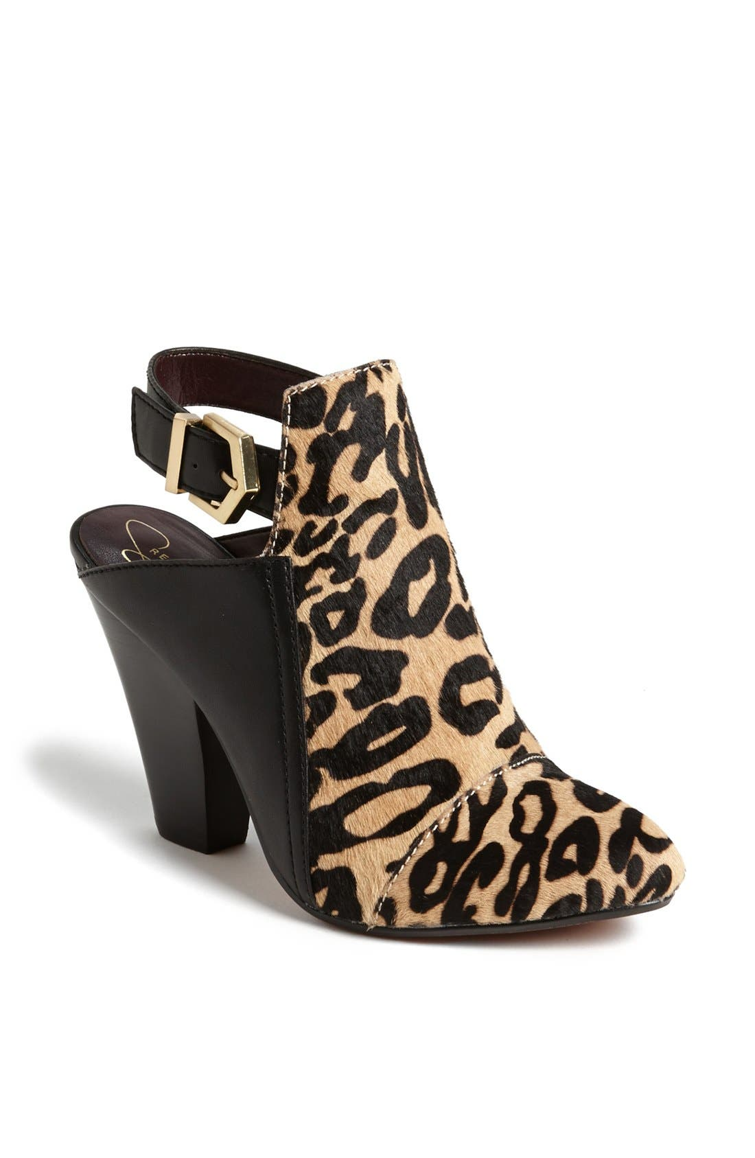Alternate Image 1 Selected - REPORT Signature 'Barbes L' Slingback Bootie