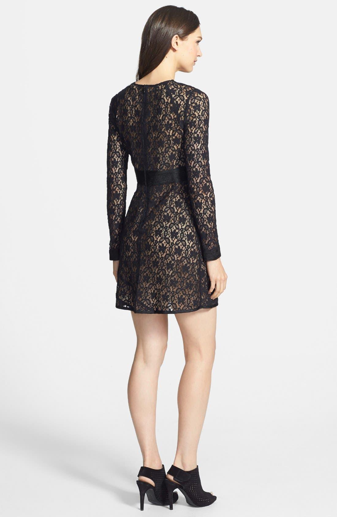 Alternate Image 2  - MARC BY MARC JACOBS 'Leila' Lace A-Line Dress