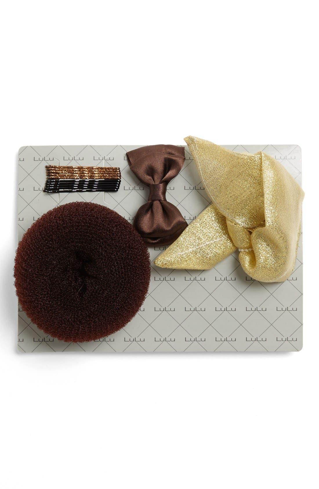 Alternate Image 1 Selected - Lulu Bun Kit Holiday Gift Set (Juniors) (Online Only)