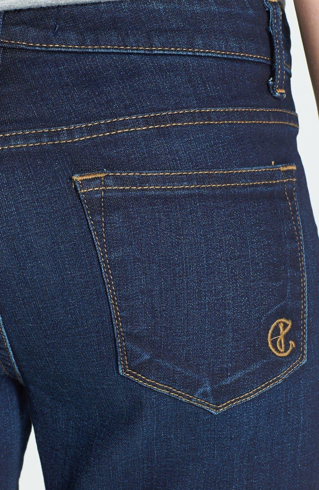 Alternate Image 3  - CJ by Cookie Johnson 'Believe' Crop Stretch Denim Skinny Jeans (Jeames)