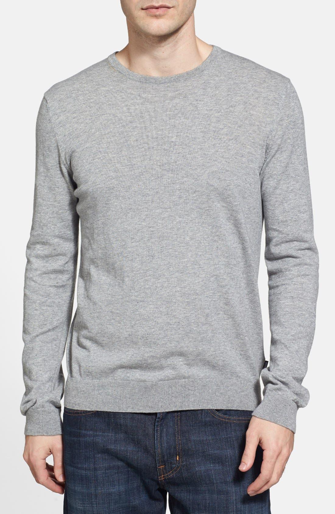 Alternate Image 1 Selected - BOSS HUGO BOSS 'Perinus' Crewneck Sweater