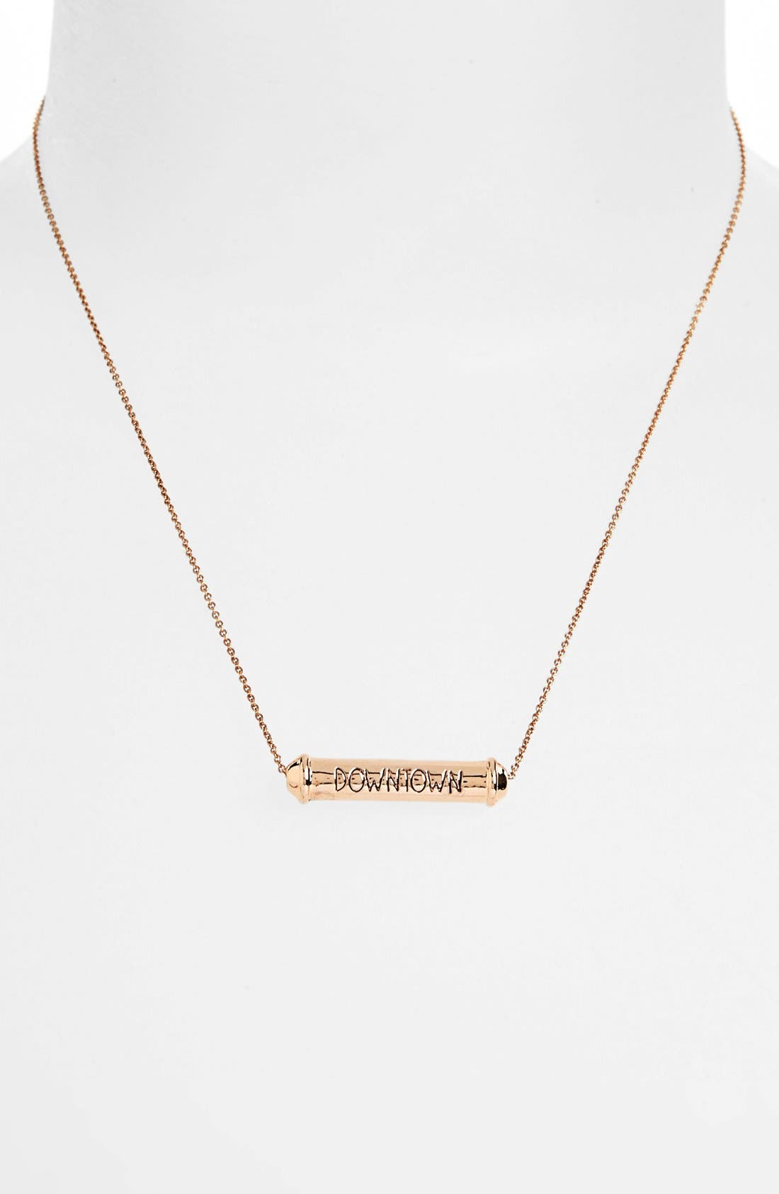 Alternate Image 2  - Rebecca Minkoff 'Uptown & Downtown' Reversible Pendant Necklace
