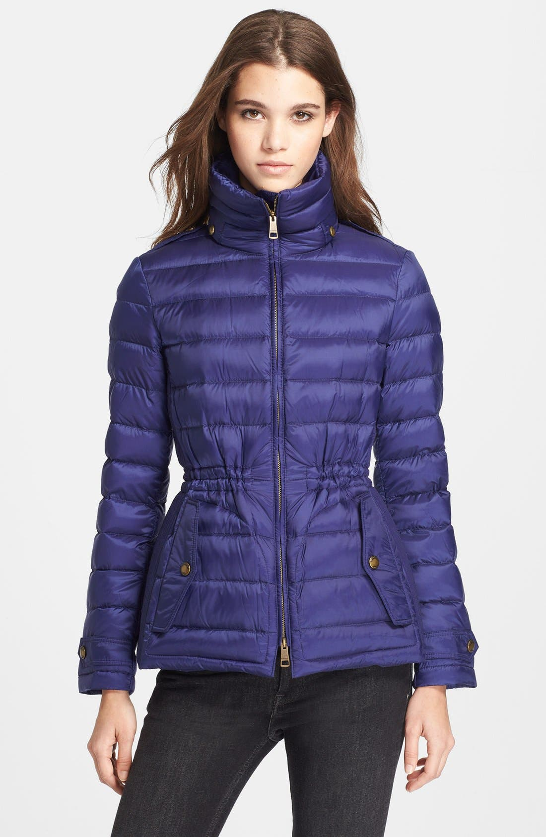 Main Image - Burberry Brit 'Roosby' Goose Down Jacket