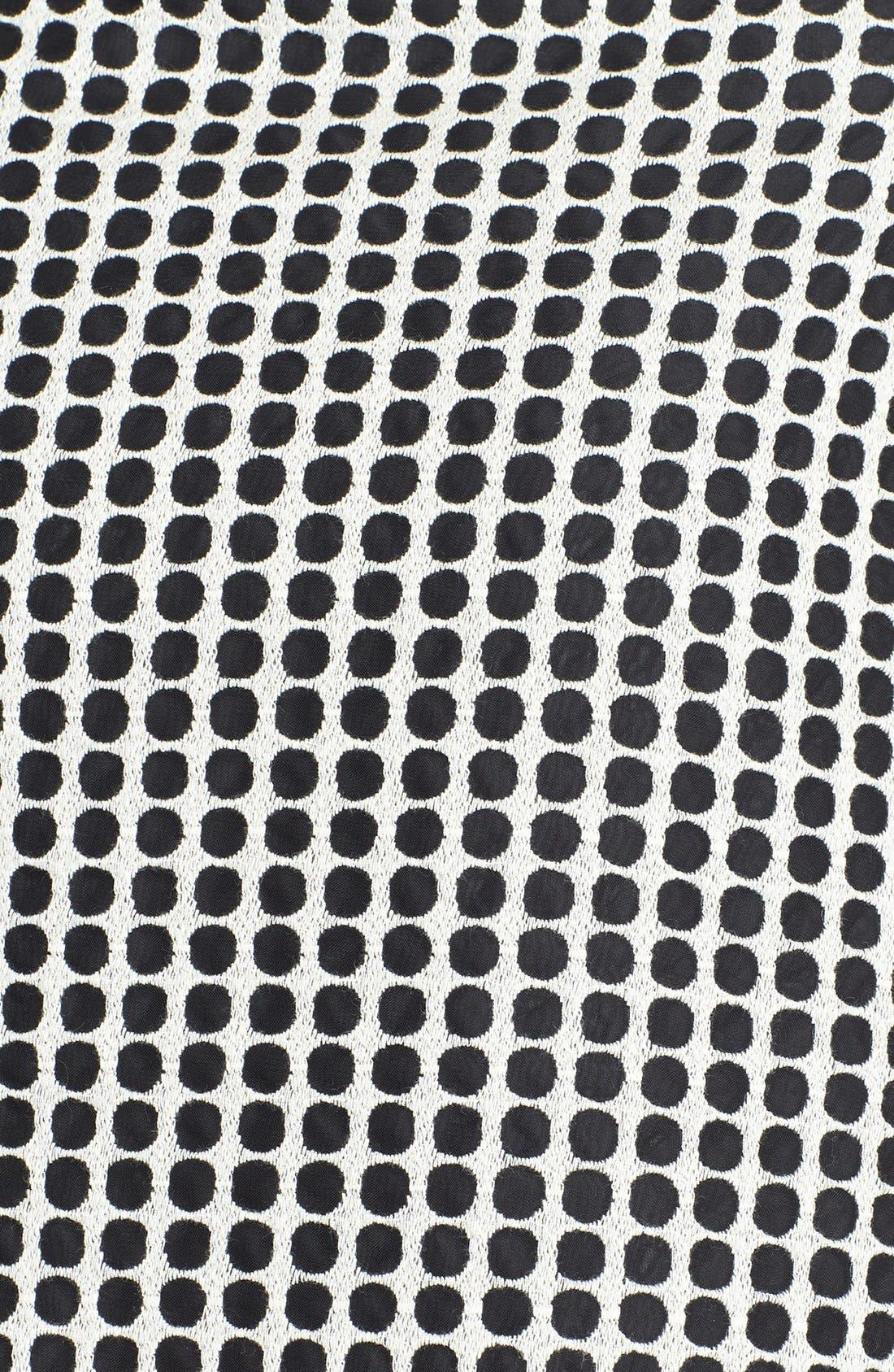 Alternate Image 3  - Vince Camuto Two-Tone Dot Print Organza Skirt