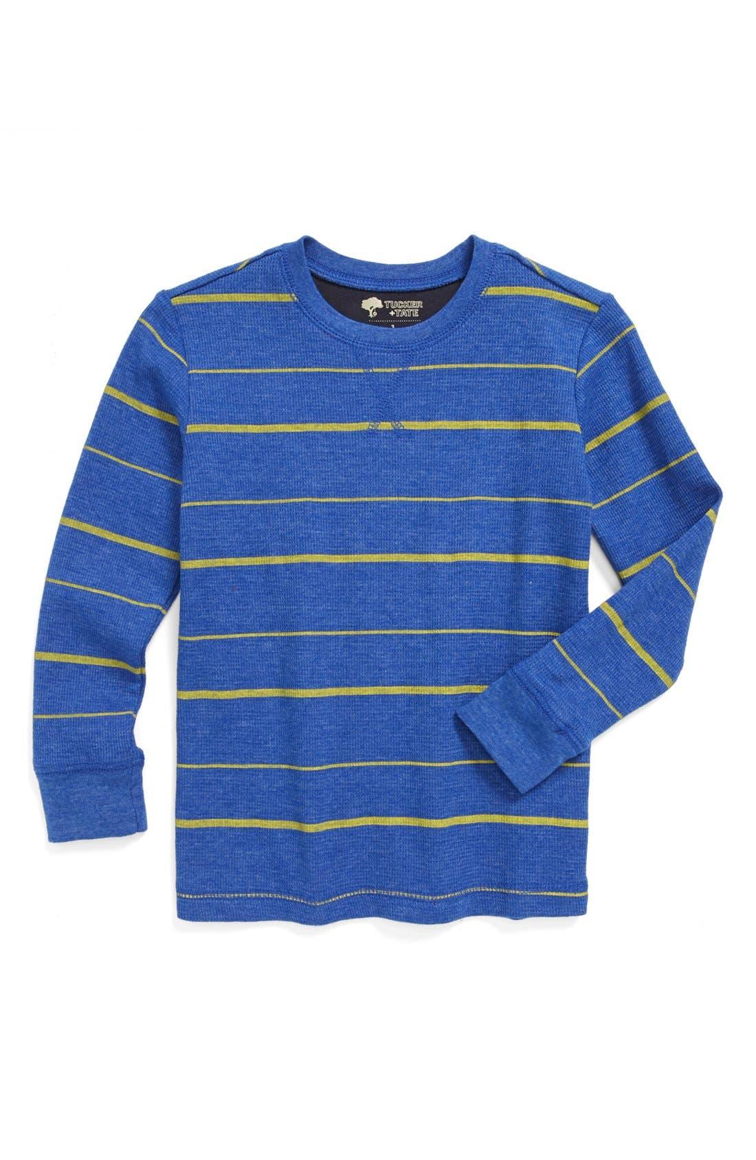 Main Image - Tucker + Tate 'Sultan' Print Long Sleeve T-Shirt (Toddler Boys)