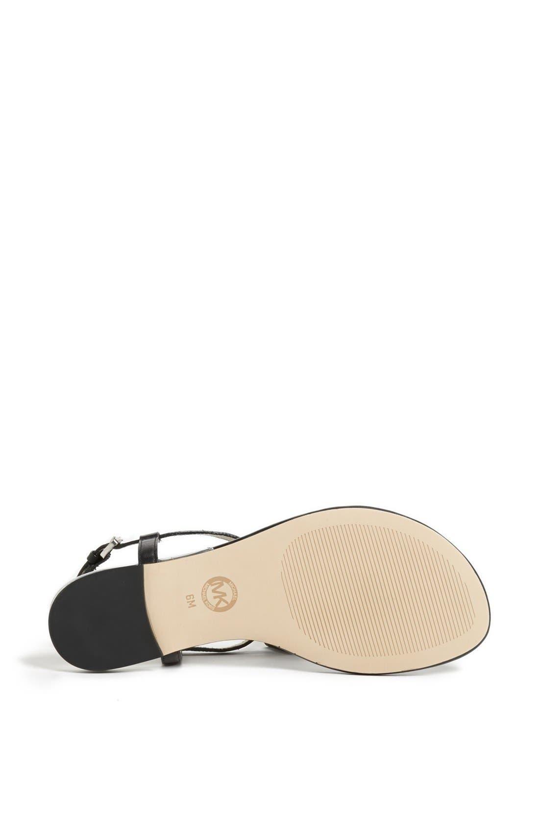 Alternate Image 4  - MICHAEL Michael Kors 'Devin' Thong Sandal